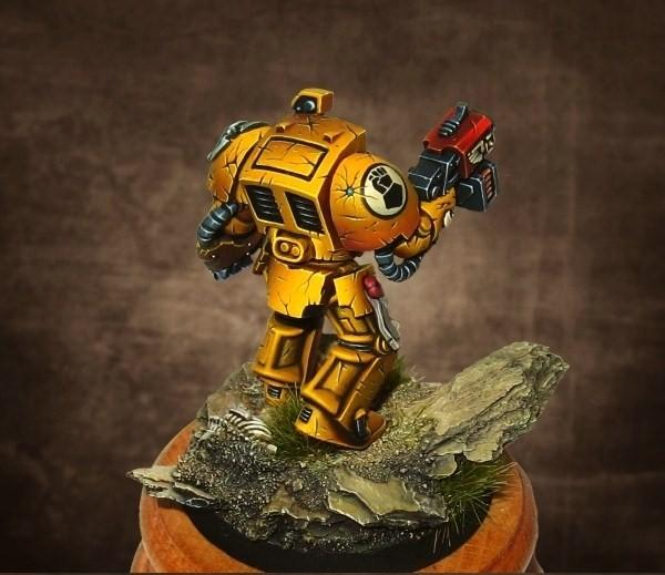 Imperial Fists, Shading, Space Marines, Terminator Armor