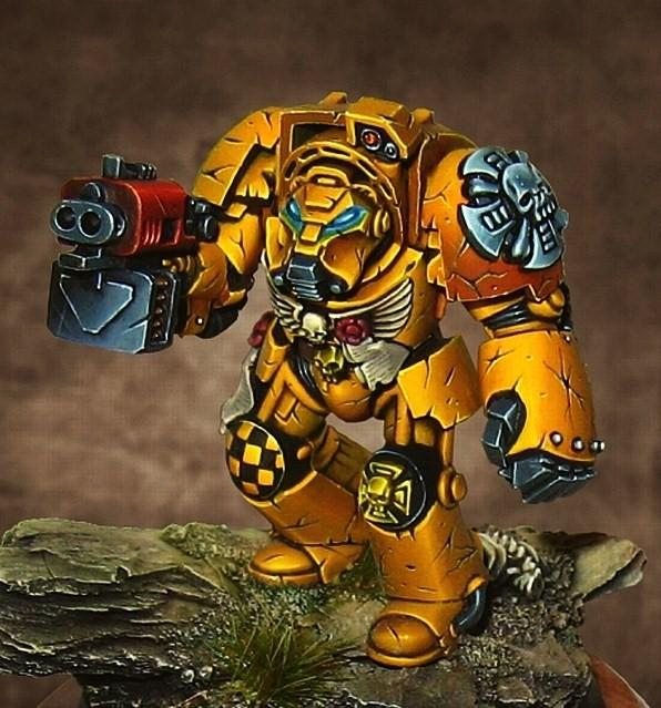 Imperial Fists, Terminator Armor