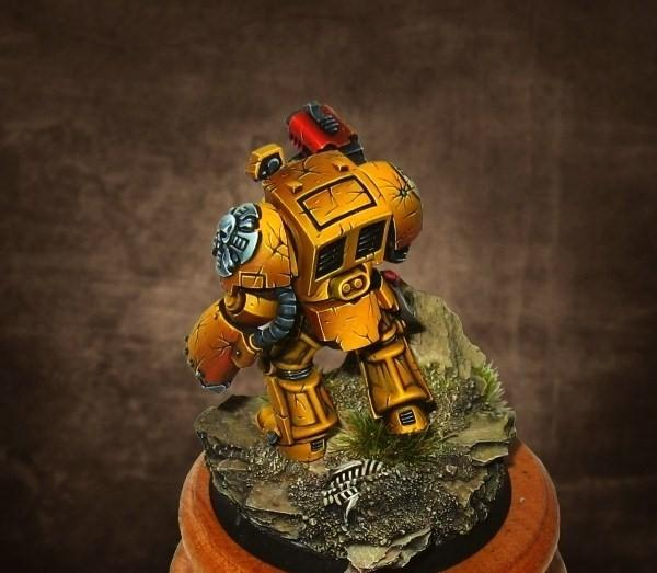 Imperial Fists, Terminator Armor, Warhammer 40,000