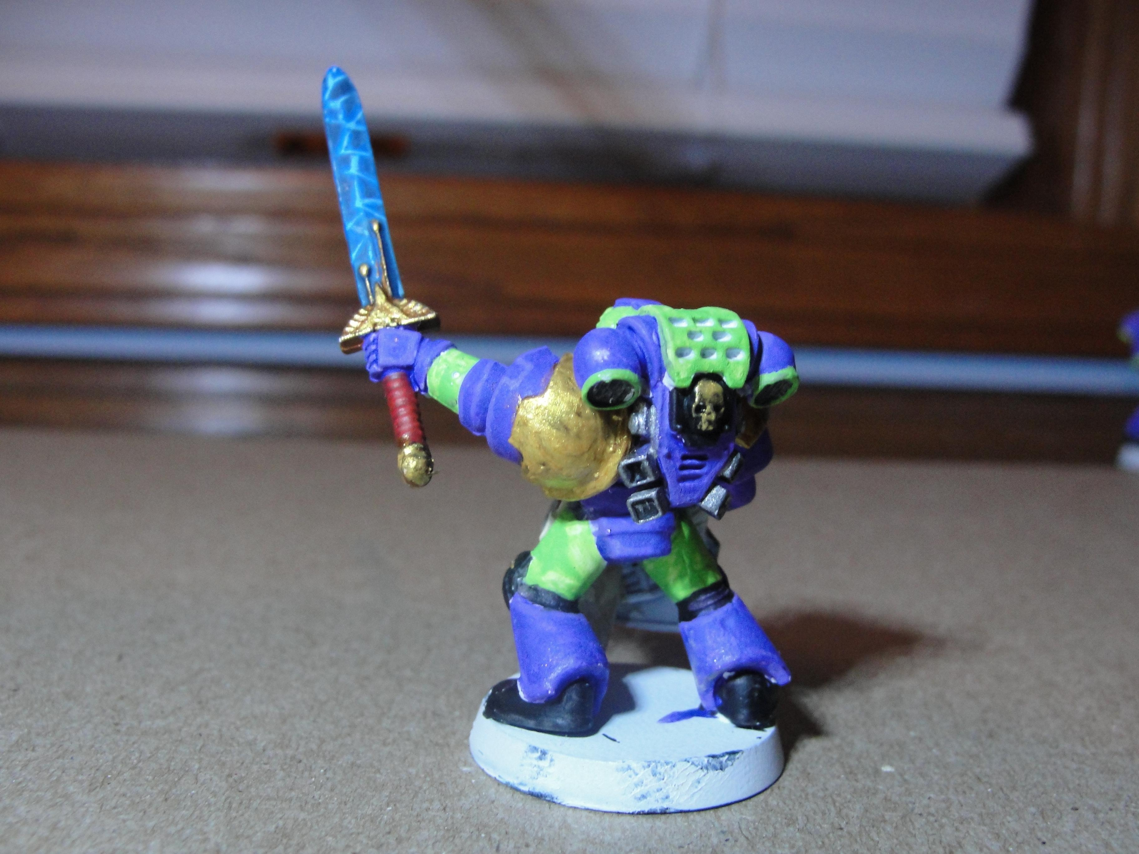 Company Champion, Space Marines