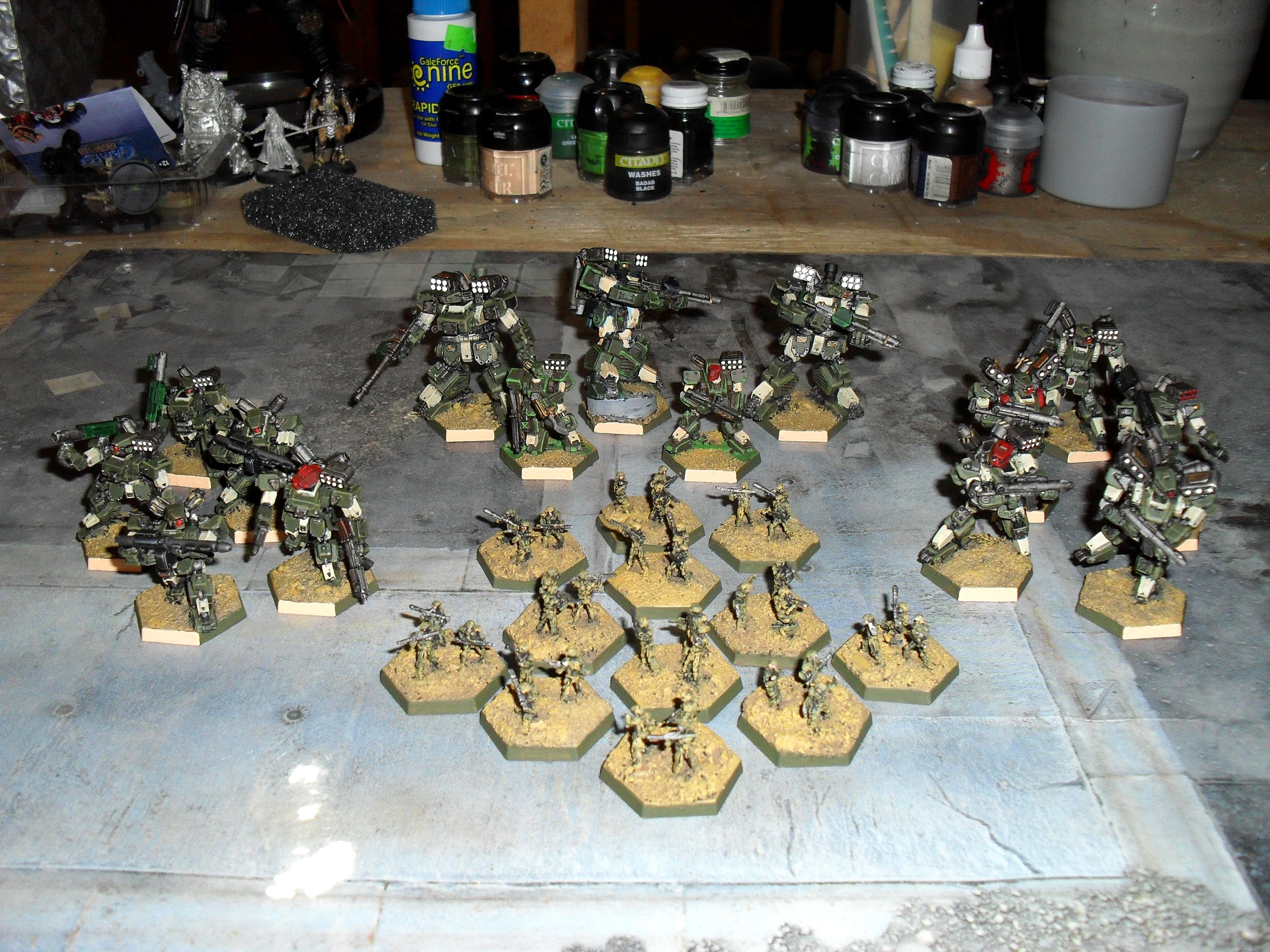 Heavy Gear, Heavy Gear Northern Starter Army