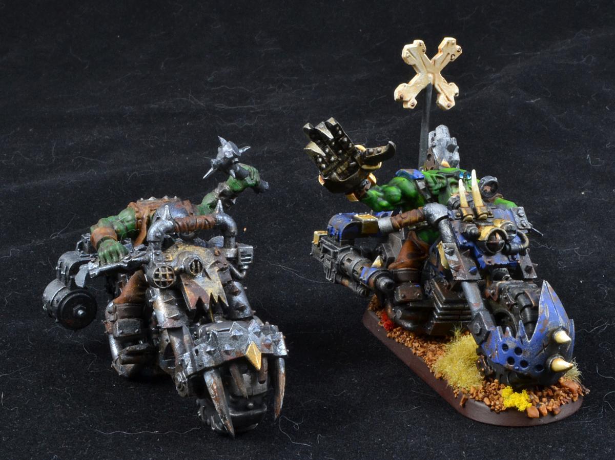 Nob Bike, Orks, Warhammer 40,000