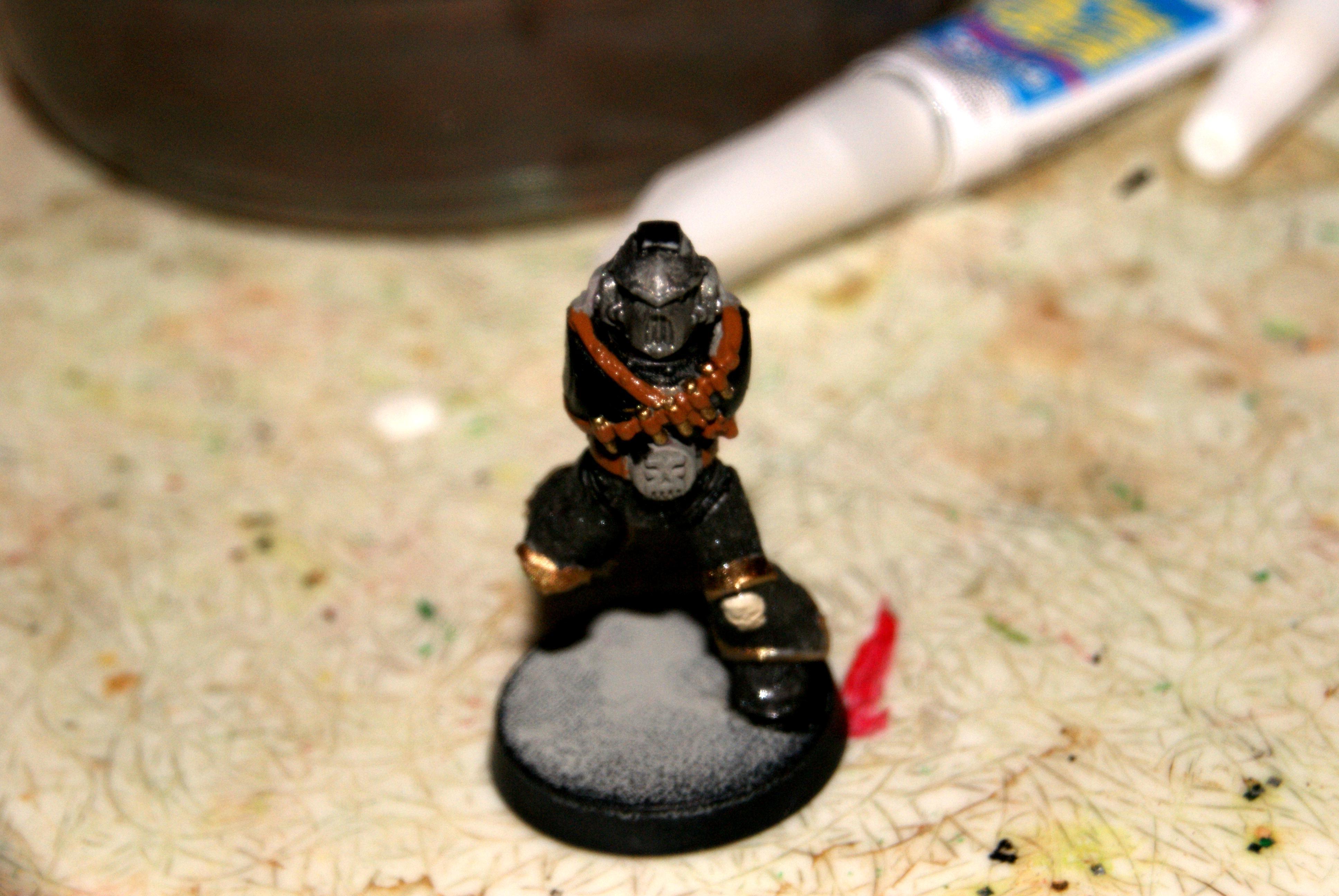 start of the paint scheme