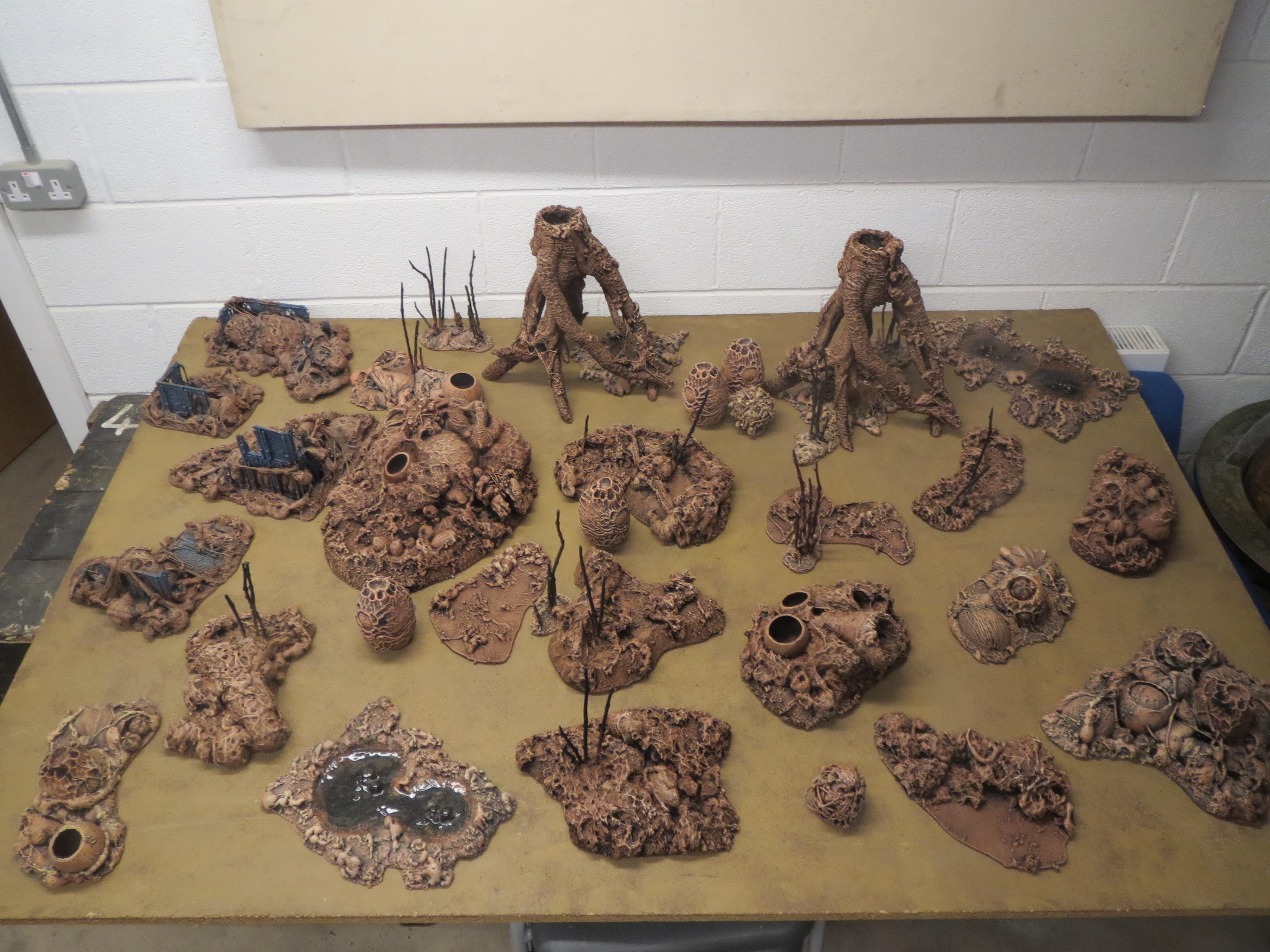 Forest, Terrain, Tyranids
