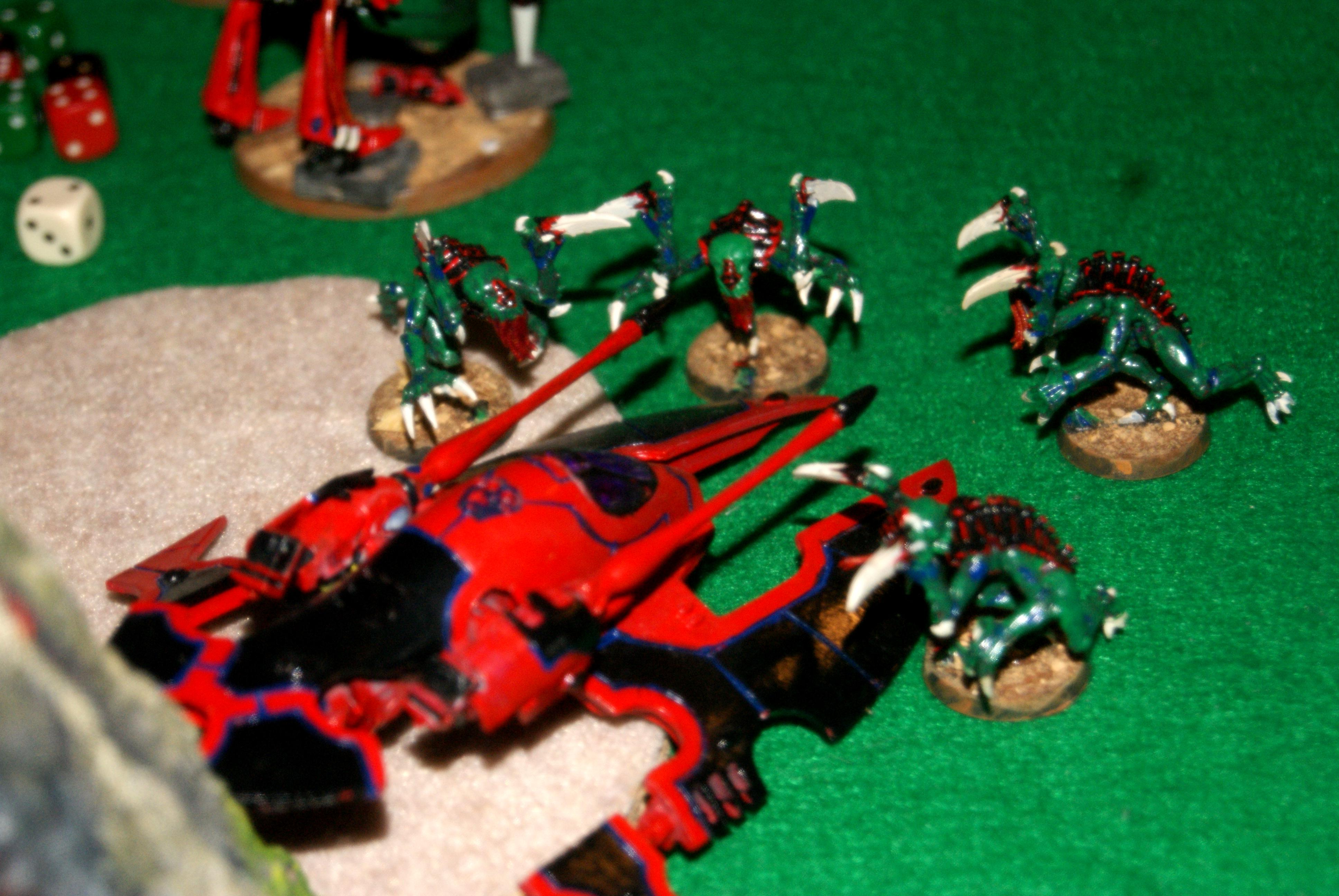 Hornet get's taken down