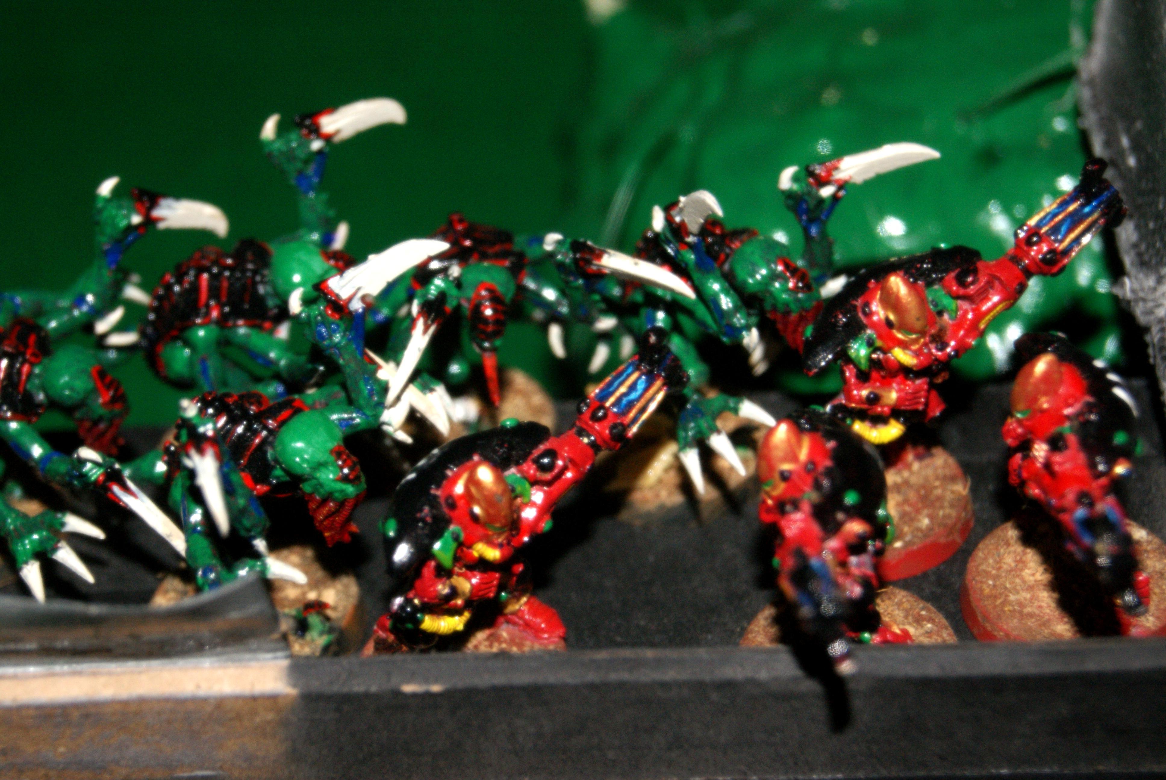 Eldar, Genestealer, Tyranids, Warp Spiders