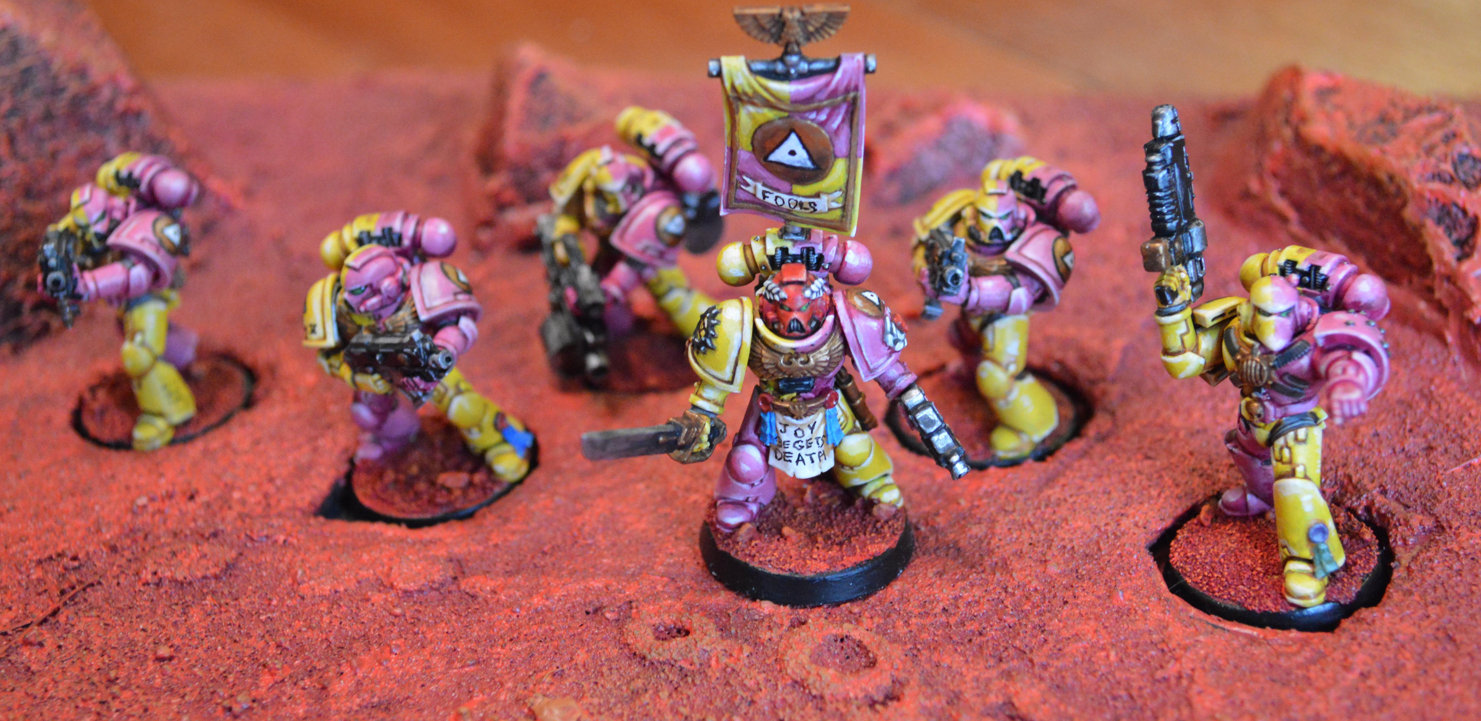 Emperor's Fools, Space Marine. 40k