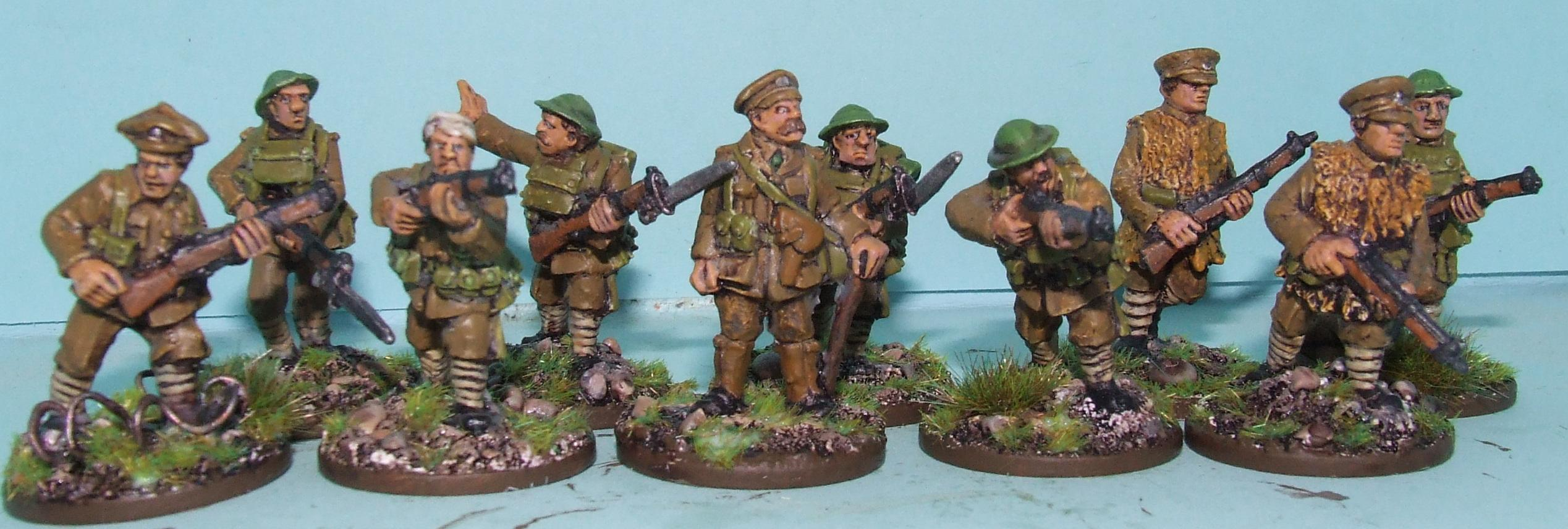 28mm Renegade WWI British