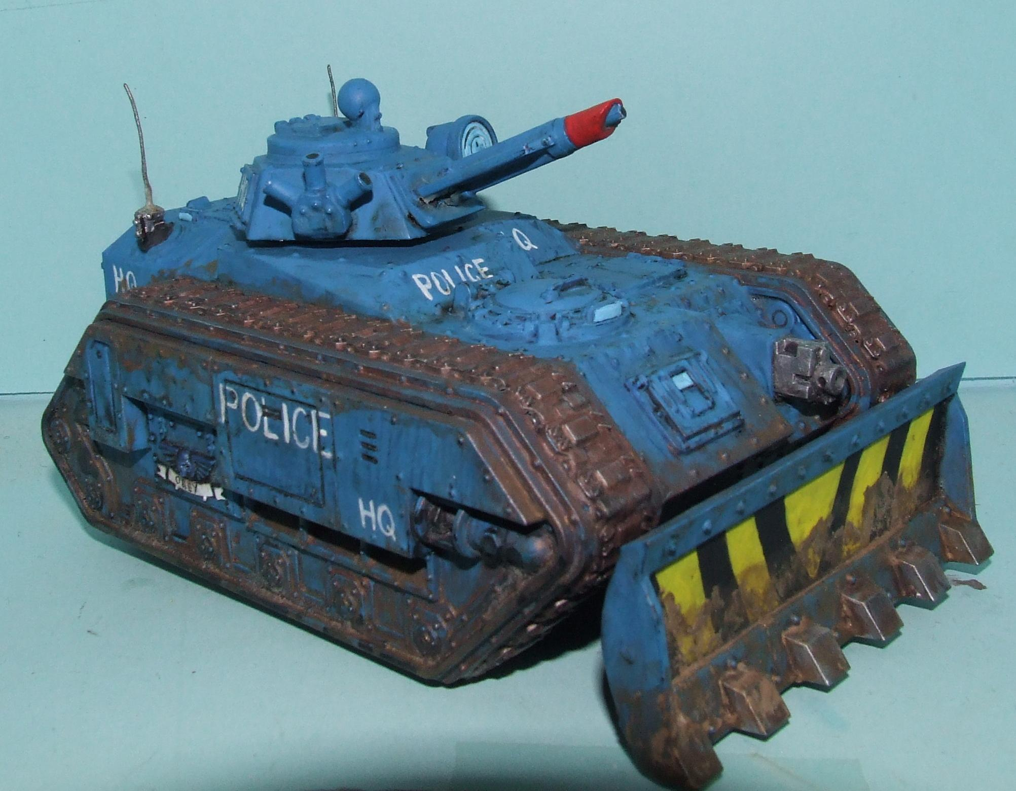 Chimera, Imperial Guard, Police