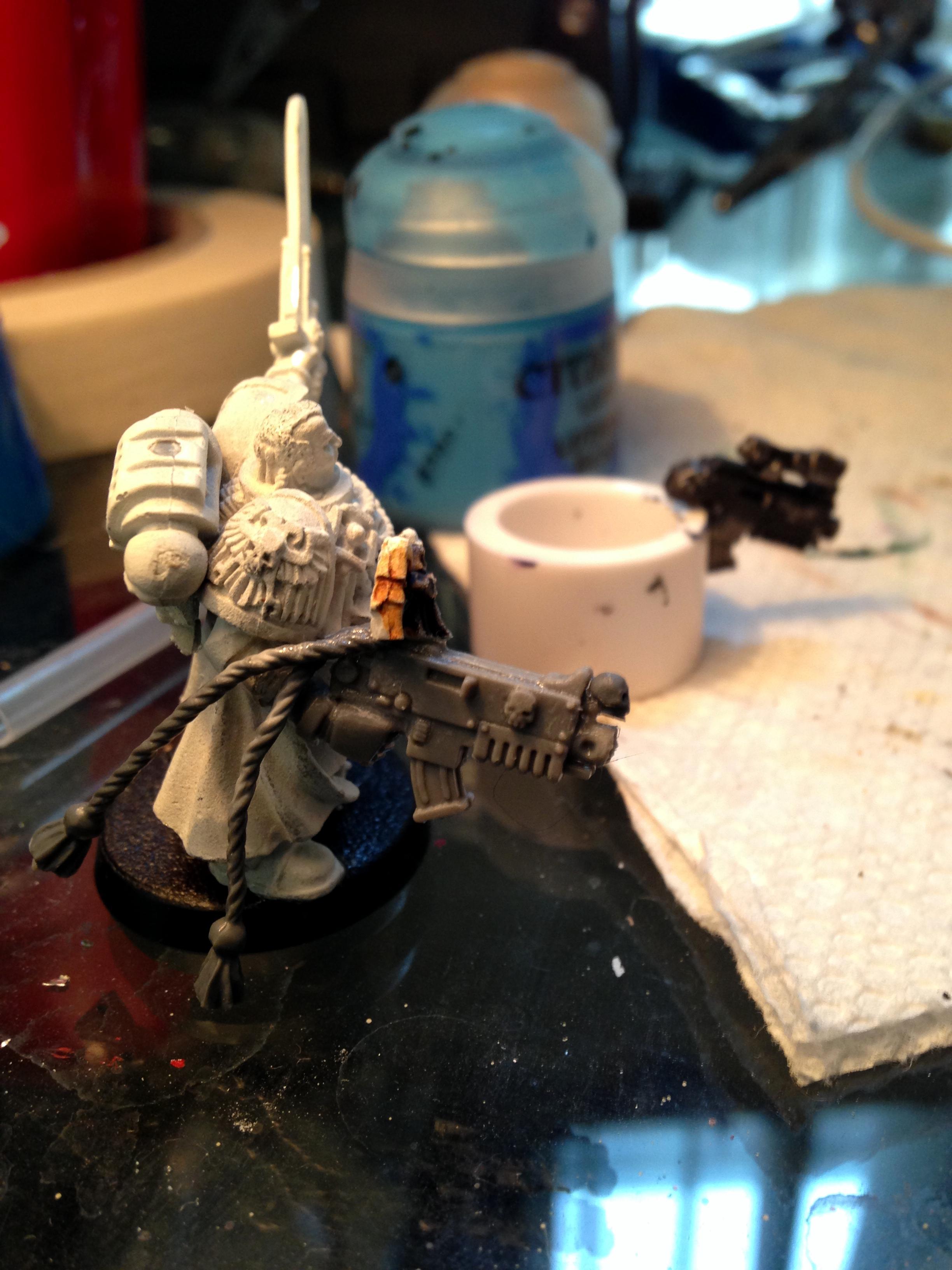 Primarch's Wrath, Space Marines, Work In Progress