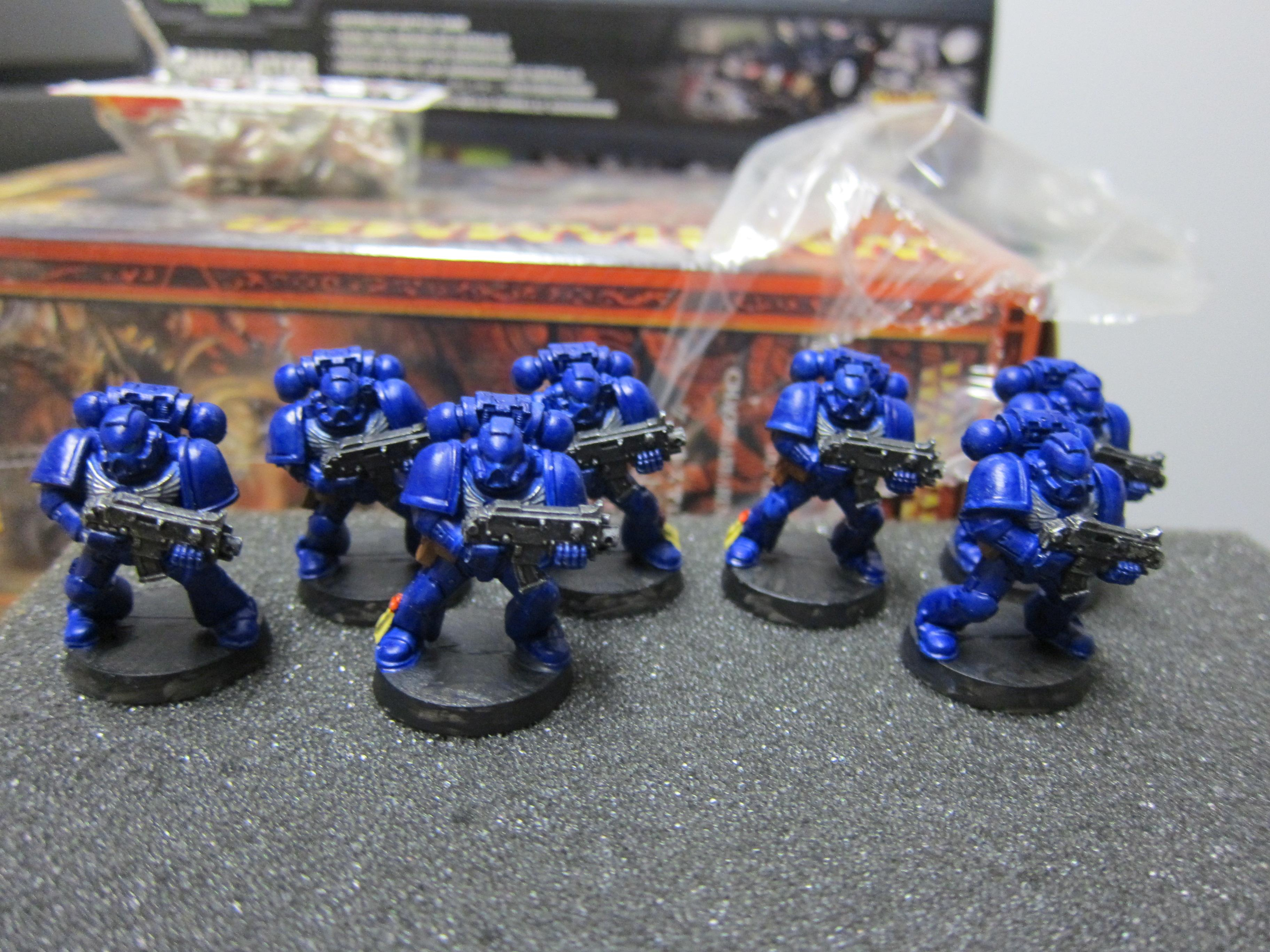 BoMc push fit marines Bolters