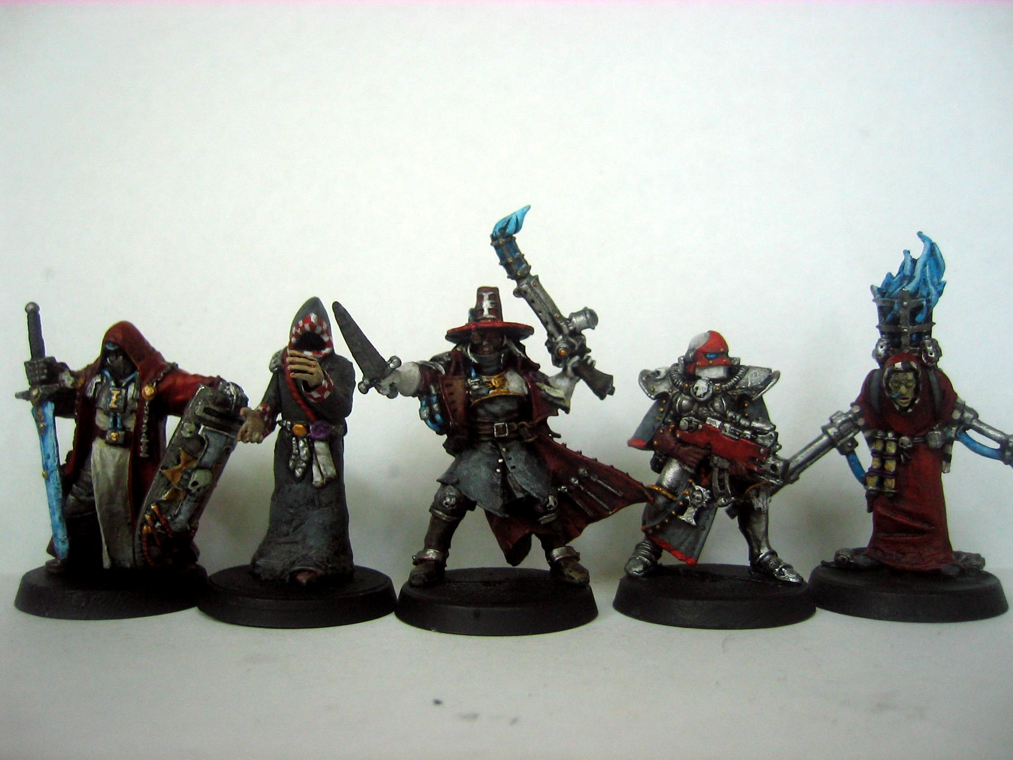 Acolytes, Crusader, Group, Hereticus, Inq28, Inquisitor, Inquisitor Retinue, Ordo, Red, Retinue, Sisters Of Battle, Warhammer 40,000