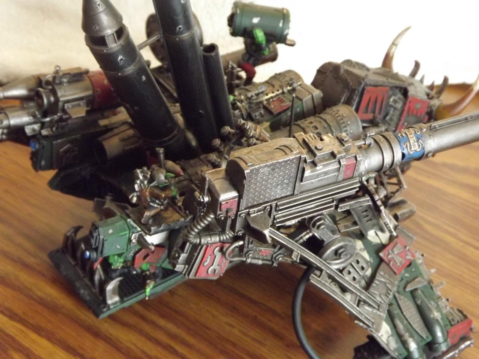 Battlewagon, Custom, Kustom, Looted Wagon, Orks, Vendetta, Vulture, Warhammer 40,000
