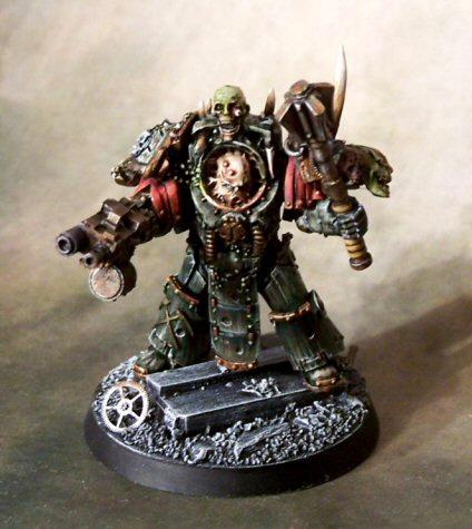Death Guard, Golden Demon, Nurgle, Terminator Armor