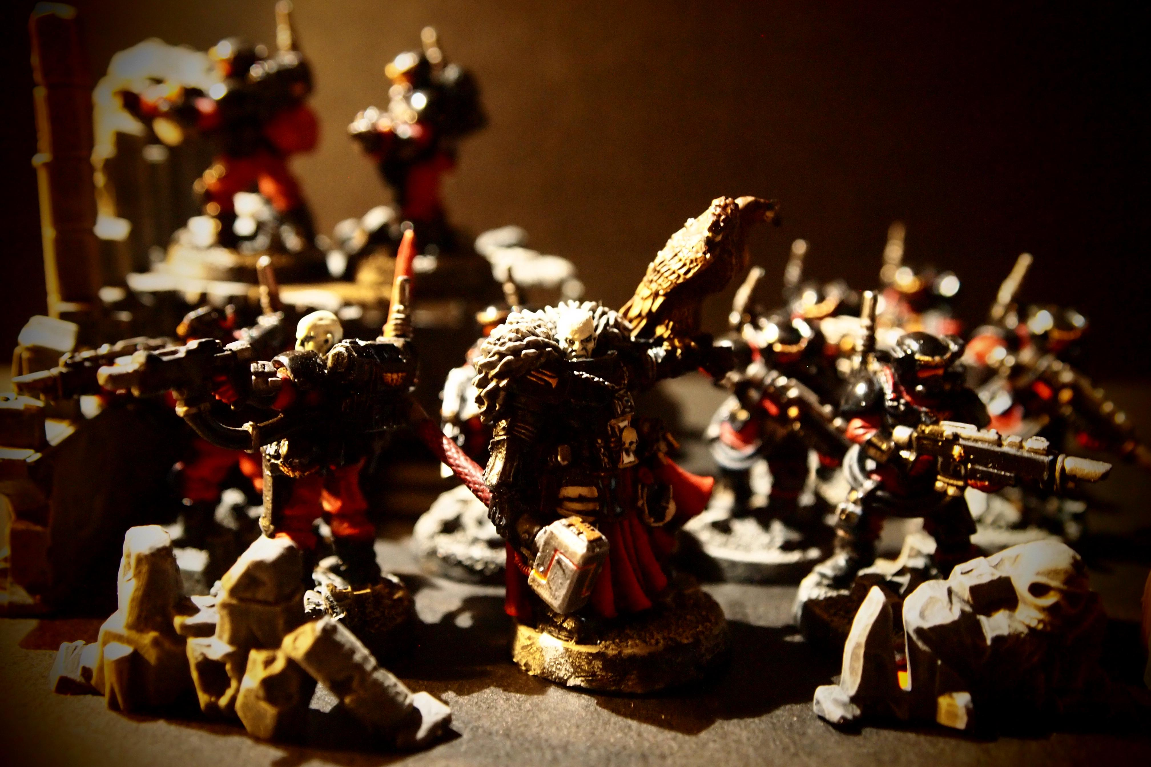 Coteaz, Inquisition, Inquisitor, Inquisitorial, Kasrkin, Storm Troopers, Warrior Acolytes