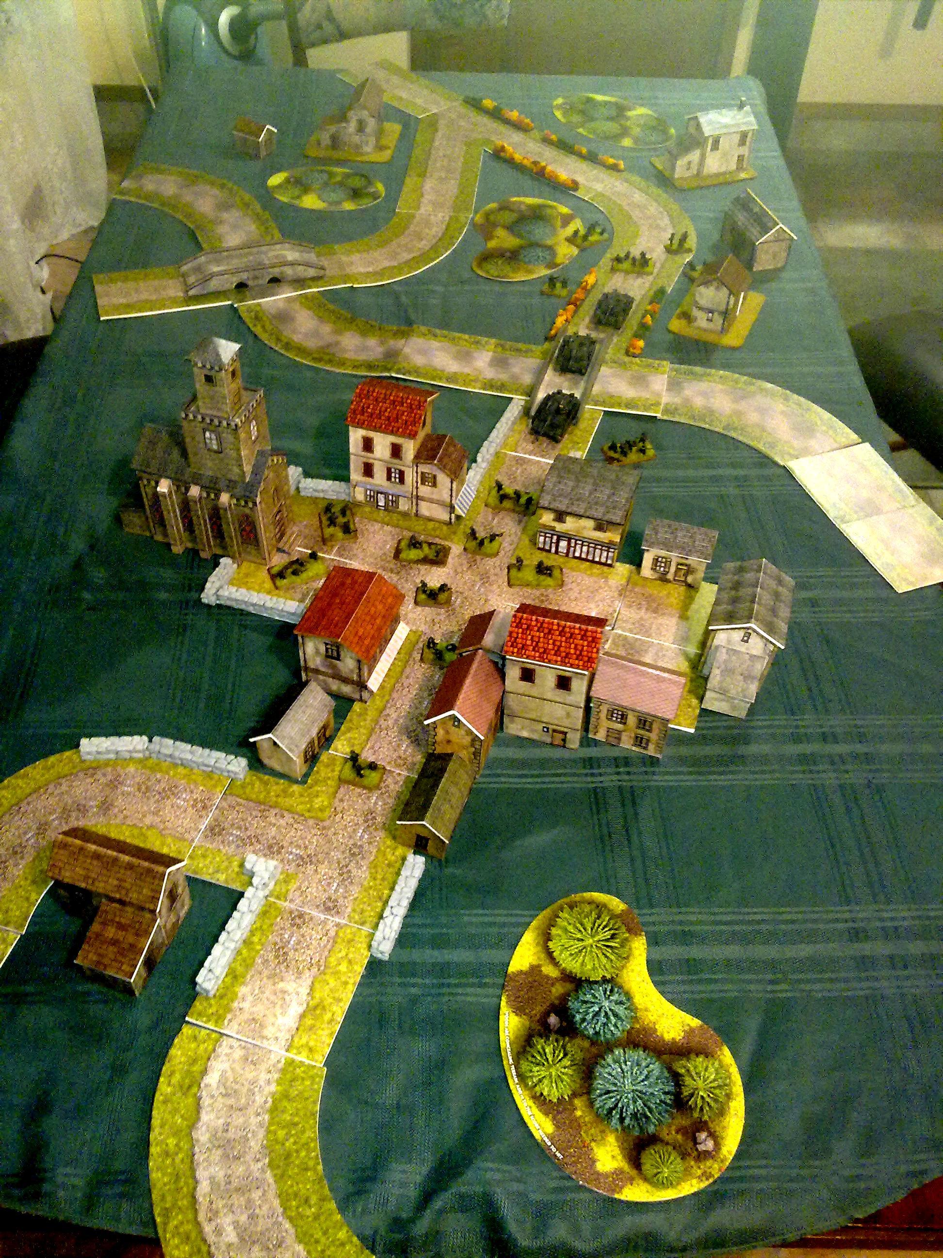 Game Table, Hamlet, Terrian, Village
