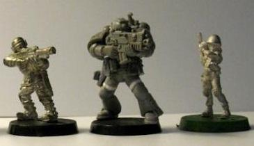 Cadians, Comparison, Hasslefree, Space Marines