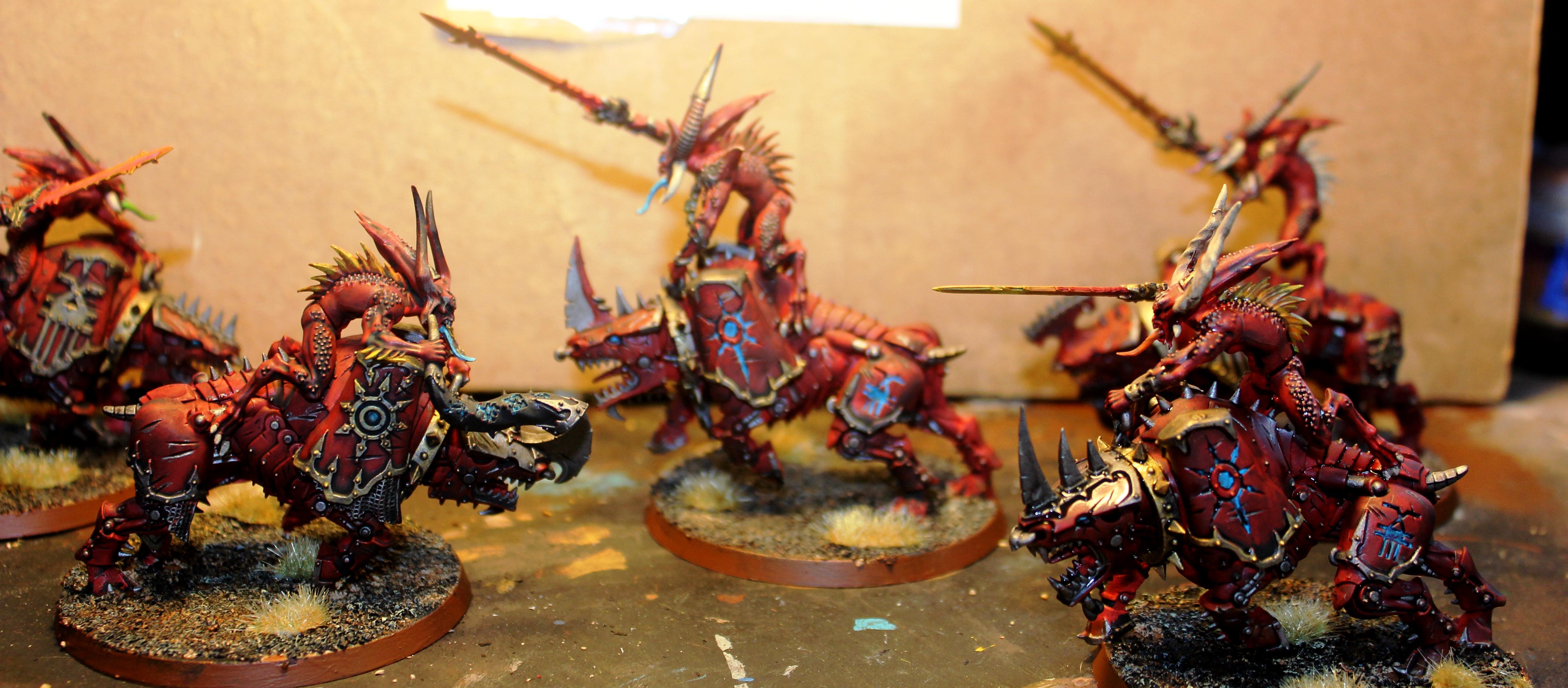 Bloodcrushers, Bloodcrushers of Khorne
