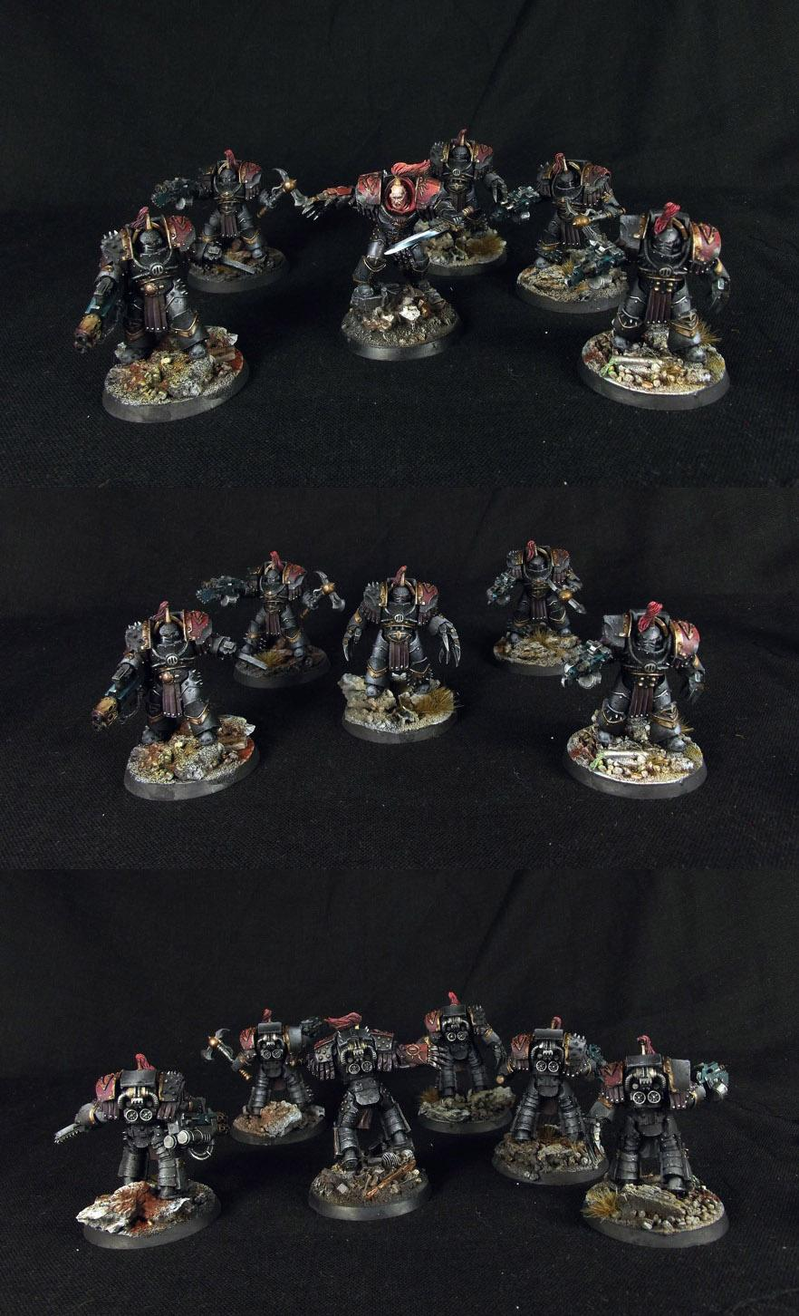 Forge World, Forgewrold, Horus Heresy, Justaerin Terminators, Luna Wolves, Warmaster