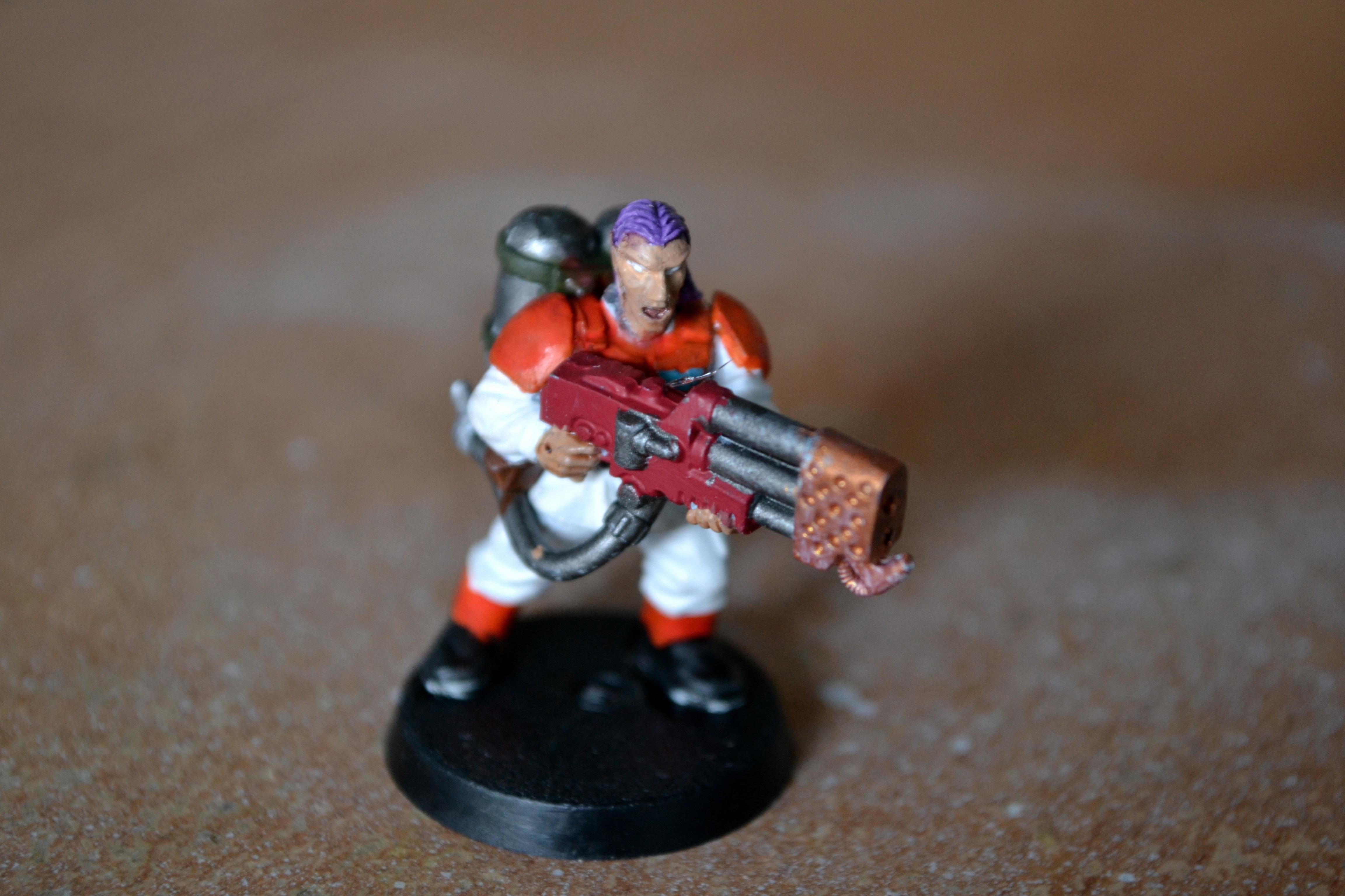 Female, Imperial Guard, Veteran Squad