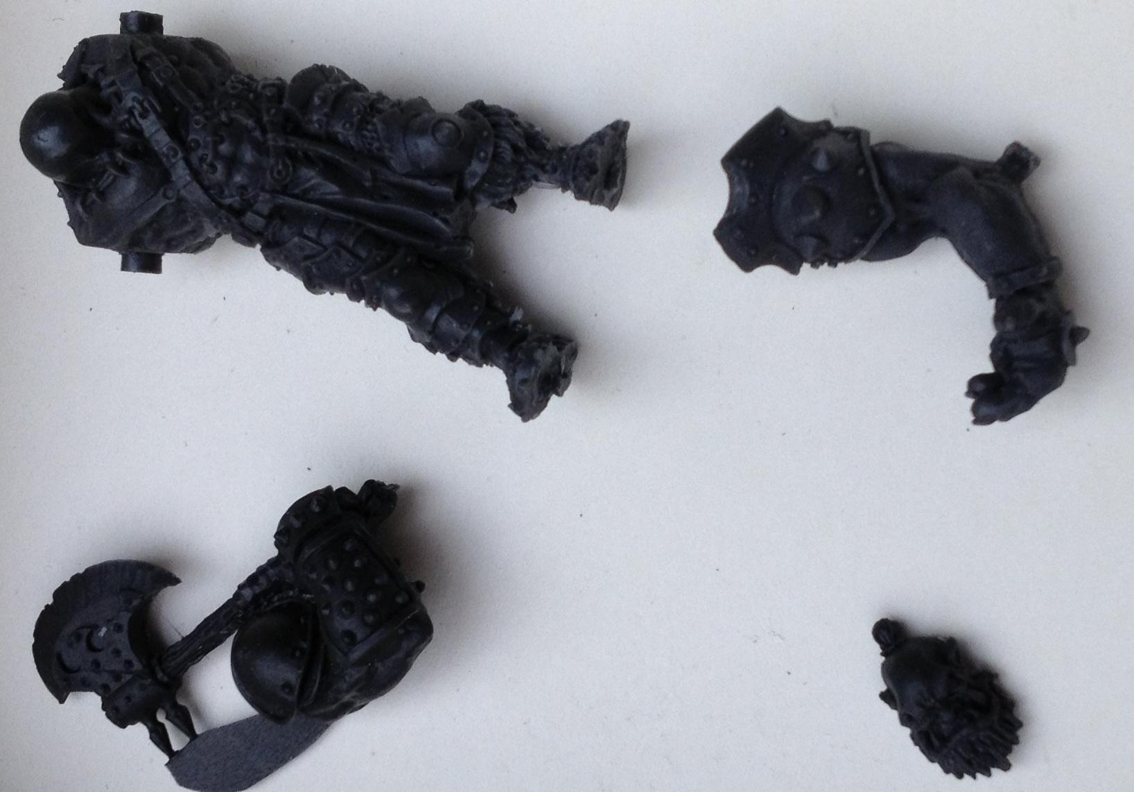 KoW limited Resin ogre components front