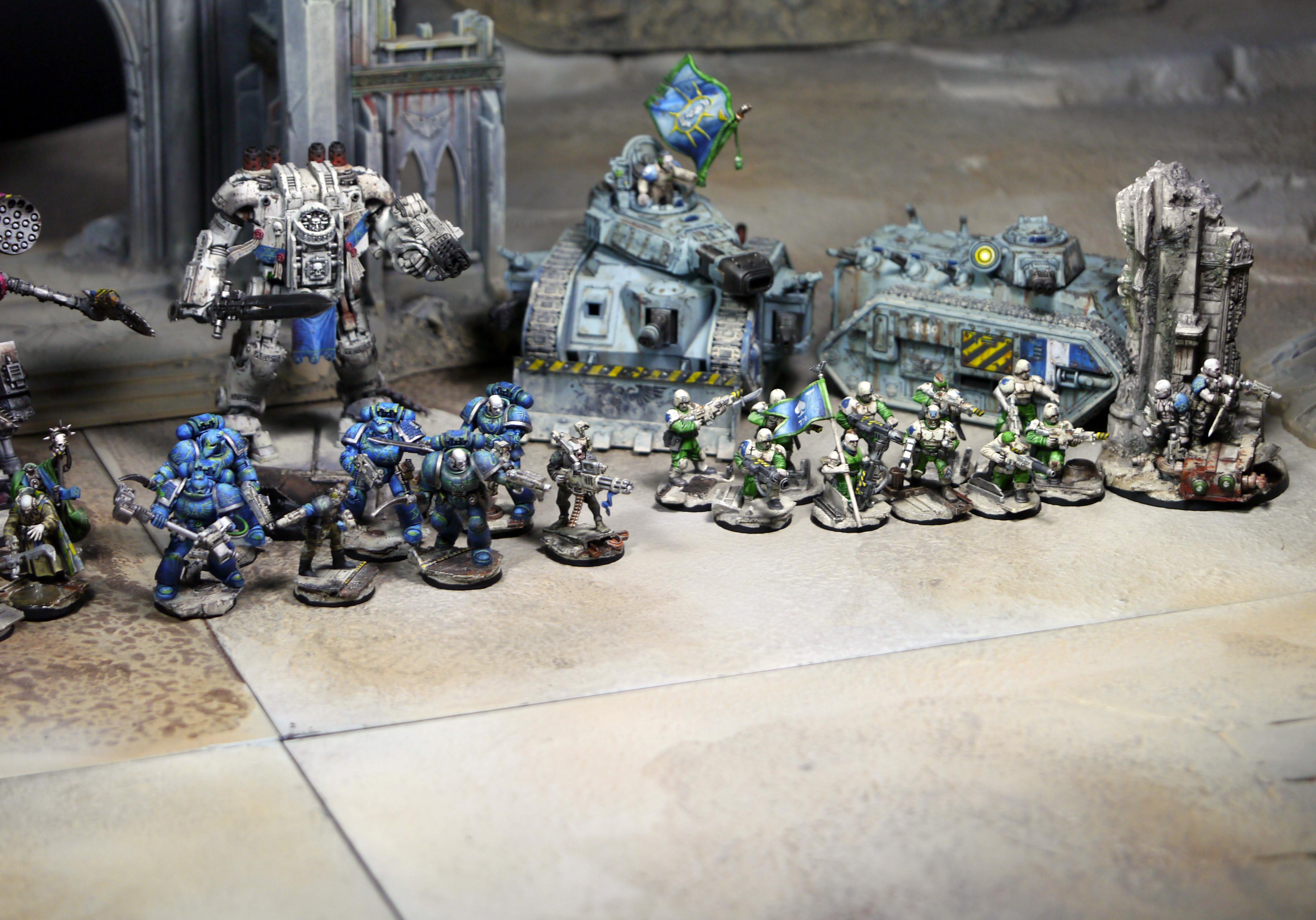 Alpha Legion, Imperial Guard