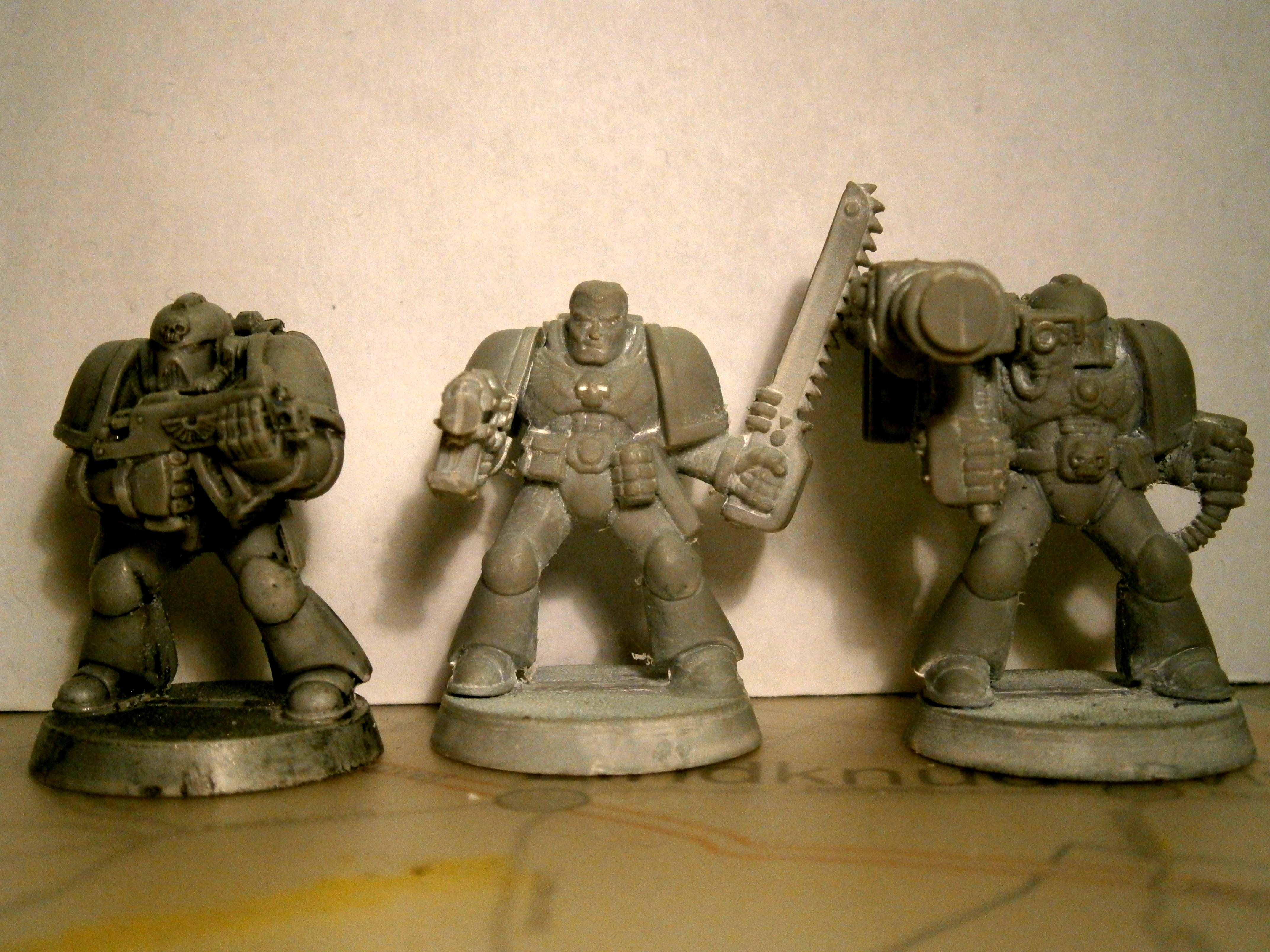 2nd Edition, Monopose, Old Space Marines, Space Marines