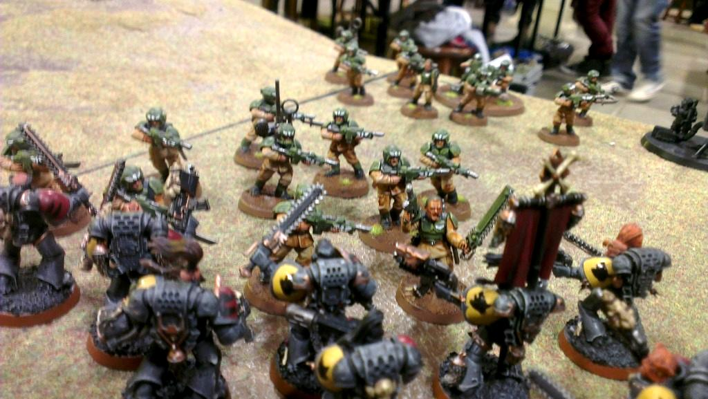 Assault, Imperial Guard, Space Marines, Space Wolves