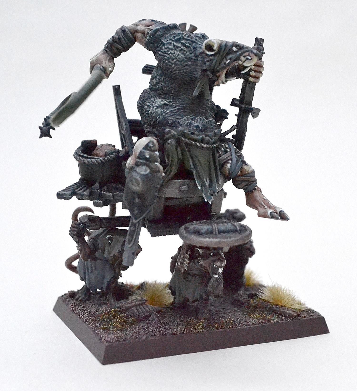 Skaven Warlord (kitbashed)