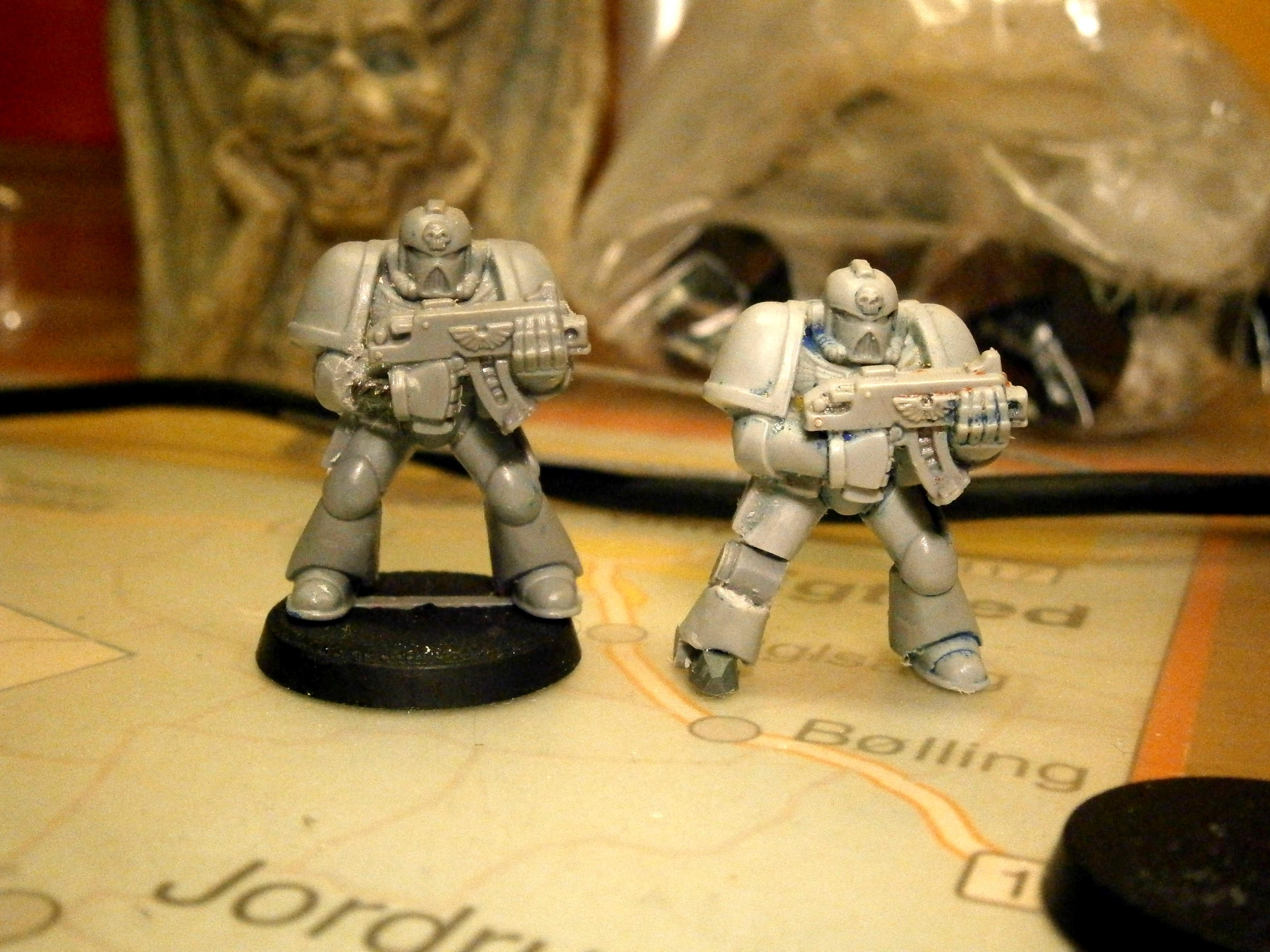 Bionics, Legs, Old Space Marine, Space Marines
