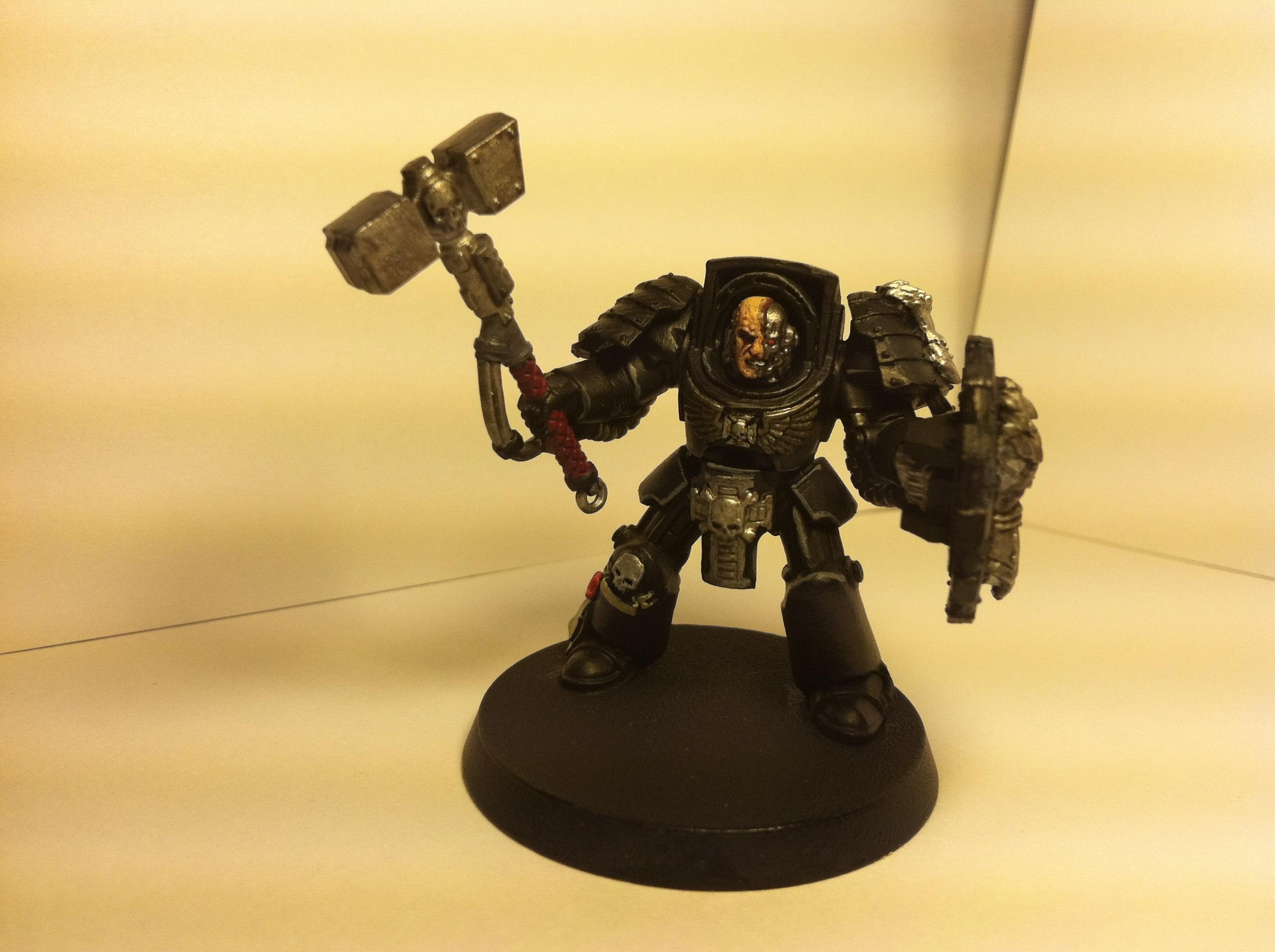 Iron Hands Chapter master