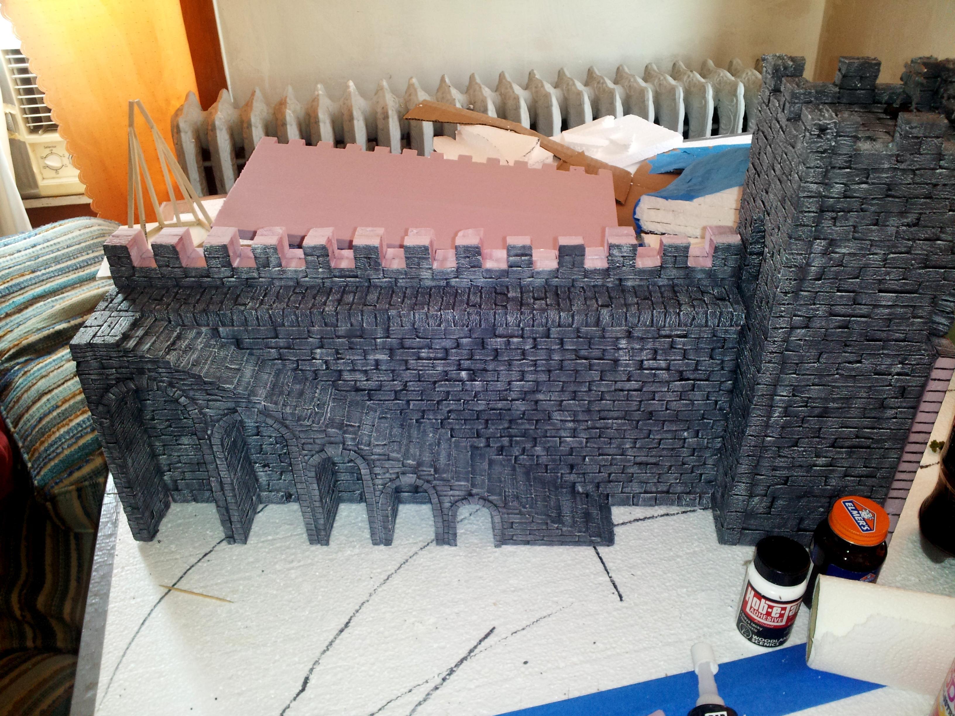 Terrain, Inner wall Near completion