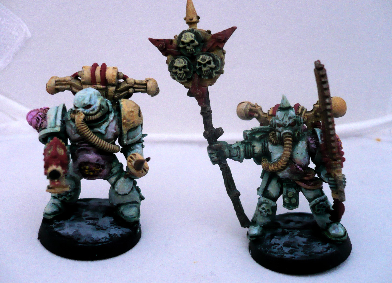 Chaos, Chaosmarines, Nurgle, Plague