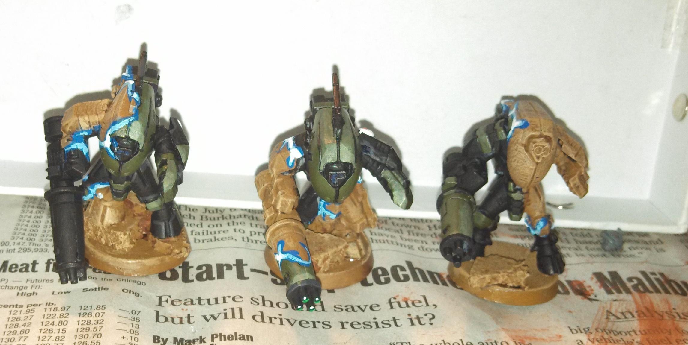 Stealth Effect, Stealthsuits, Tau