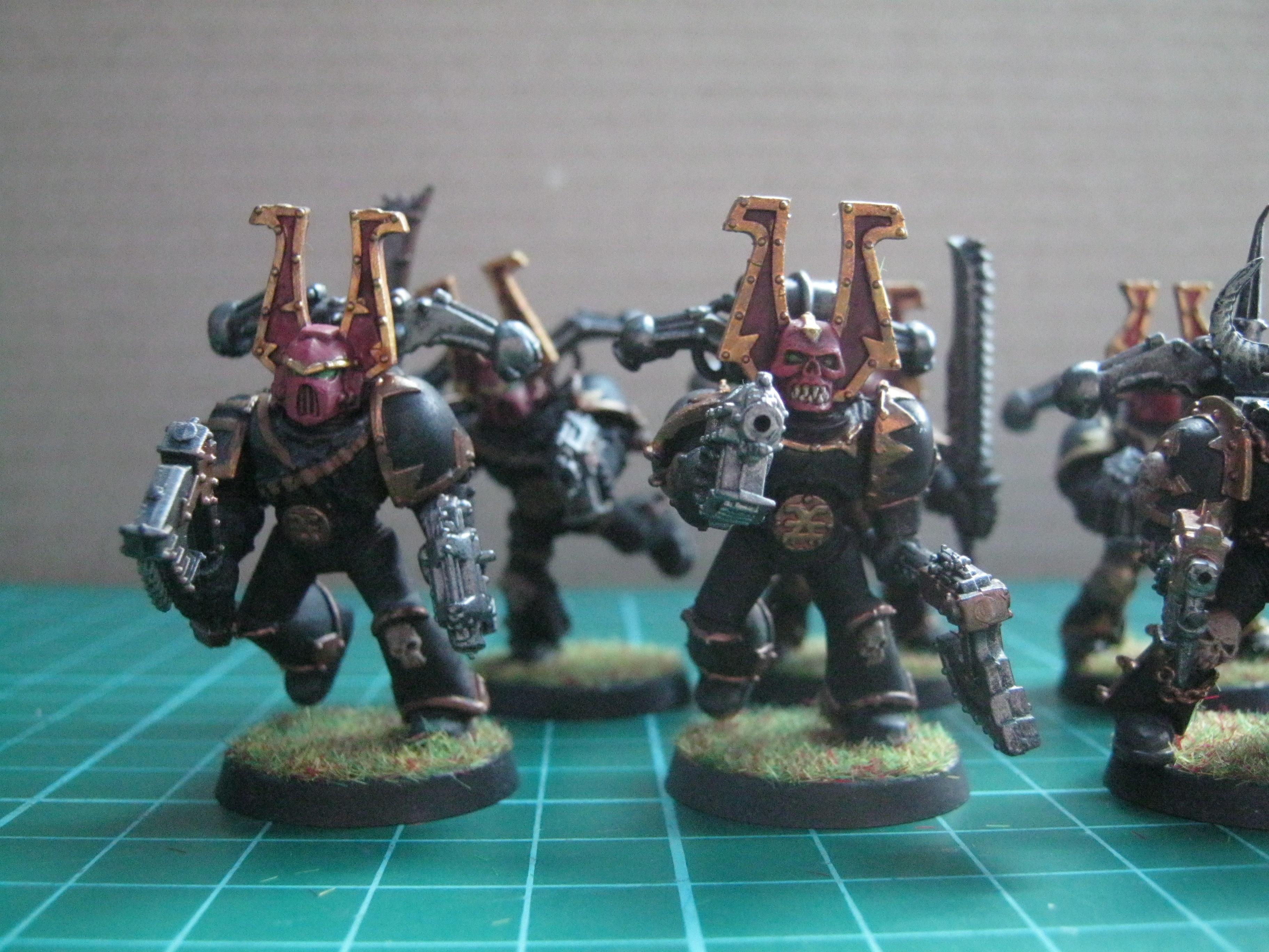Painted BL Berserkers