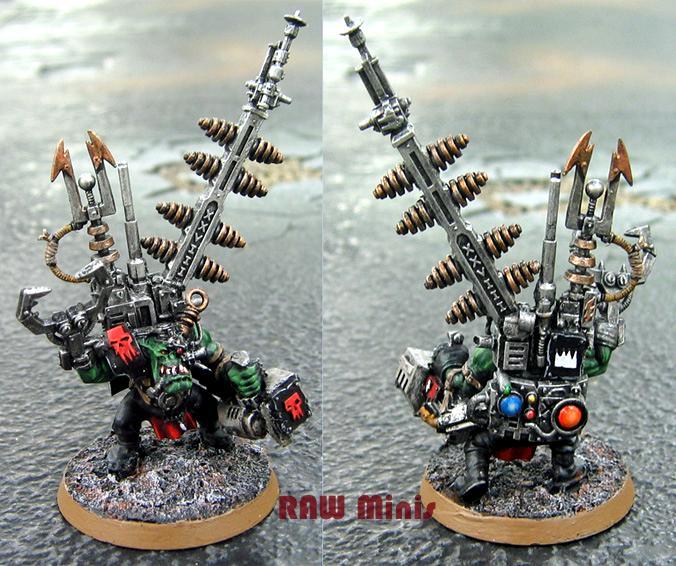 Big Mek, Conversion, Orks, Painting, Warhammer 40,000