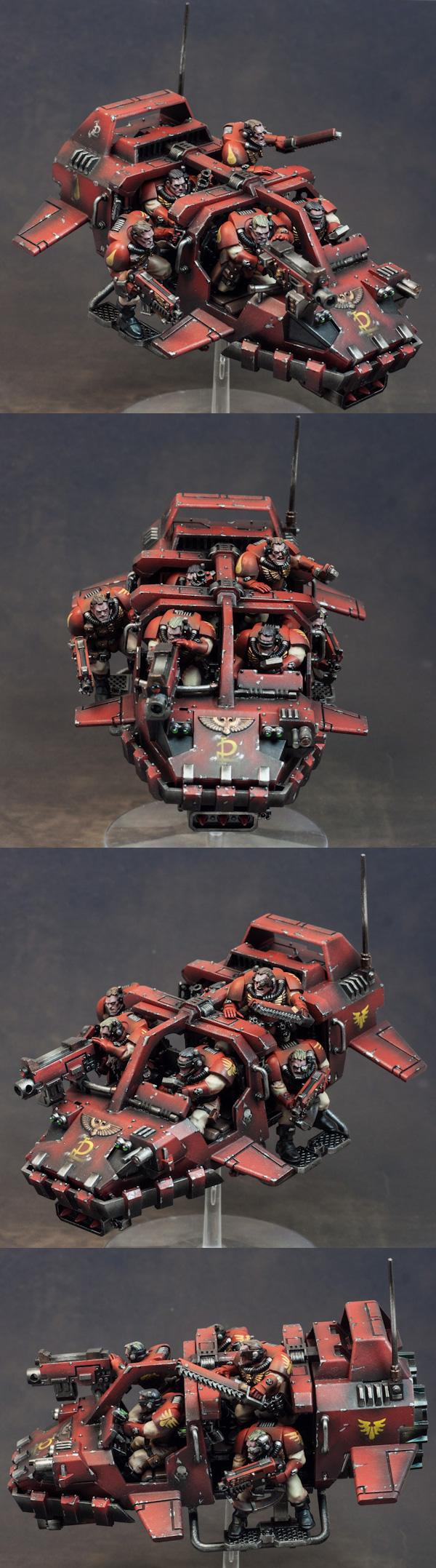 Blood Angels, Bolter, Chain, Heavy, Land Speeder, Land Speeder Storm, Scouts, Storm, Sword