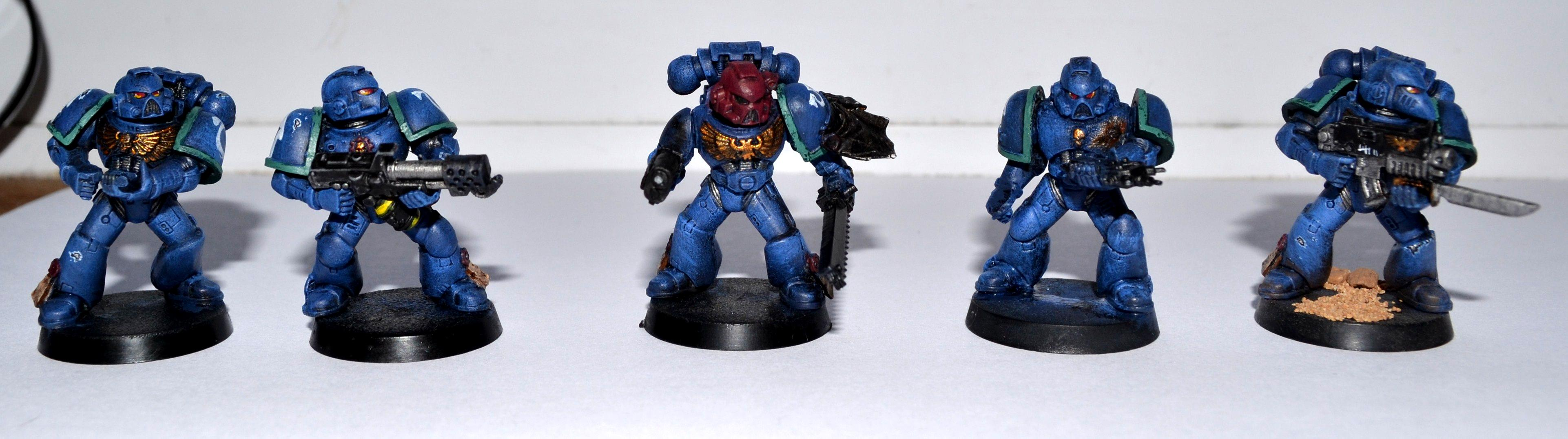 Combat Squad, Damage, Flamer, Ultramarines