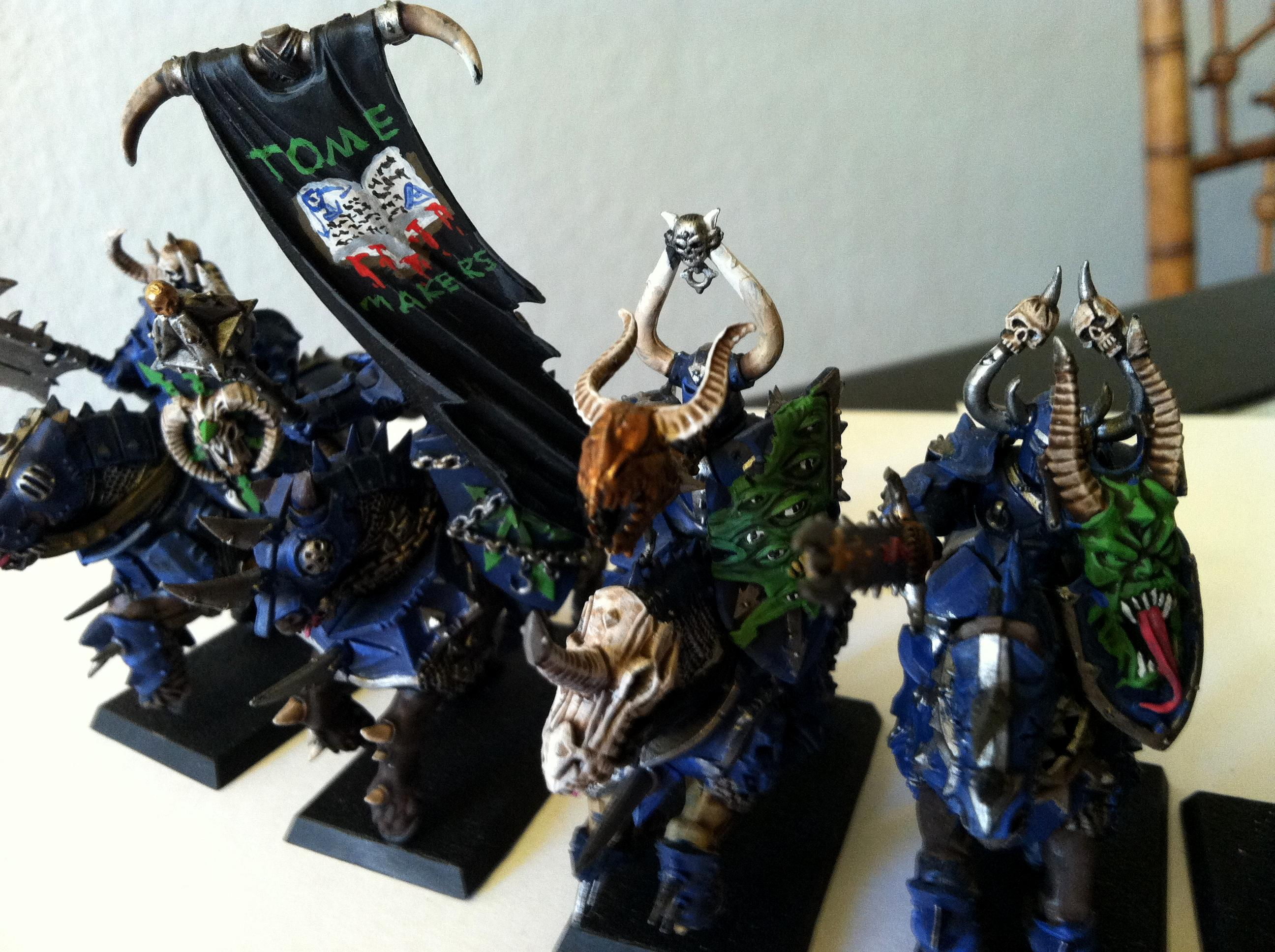 Freehand, Knights, Tzeentch, Warriors Of Chaos