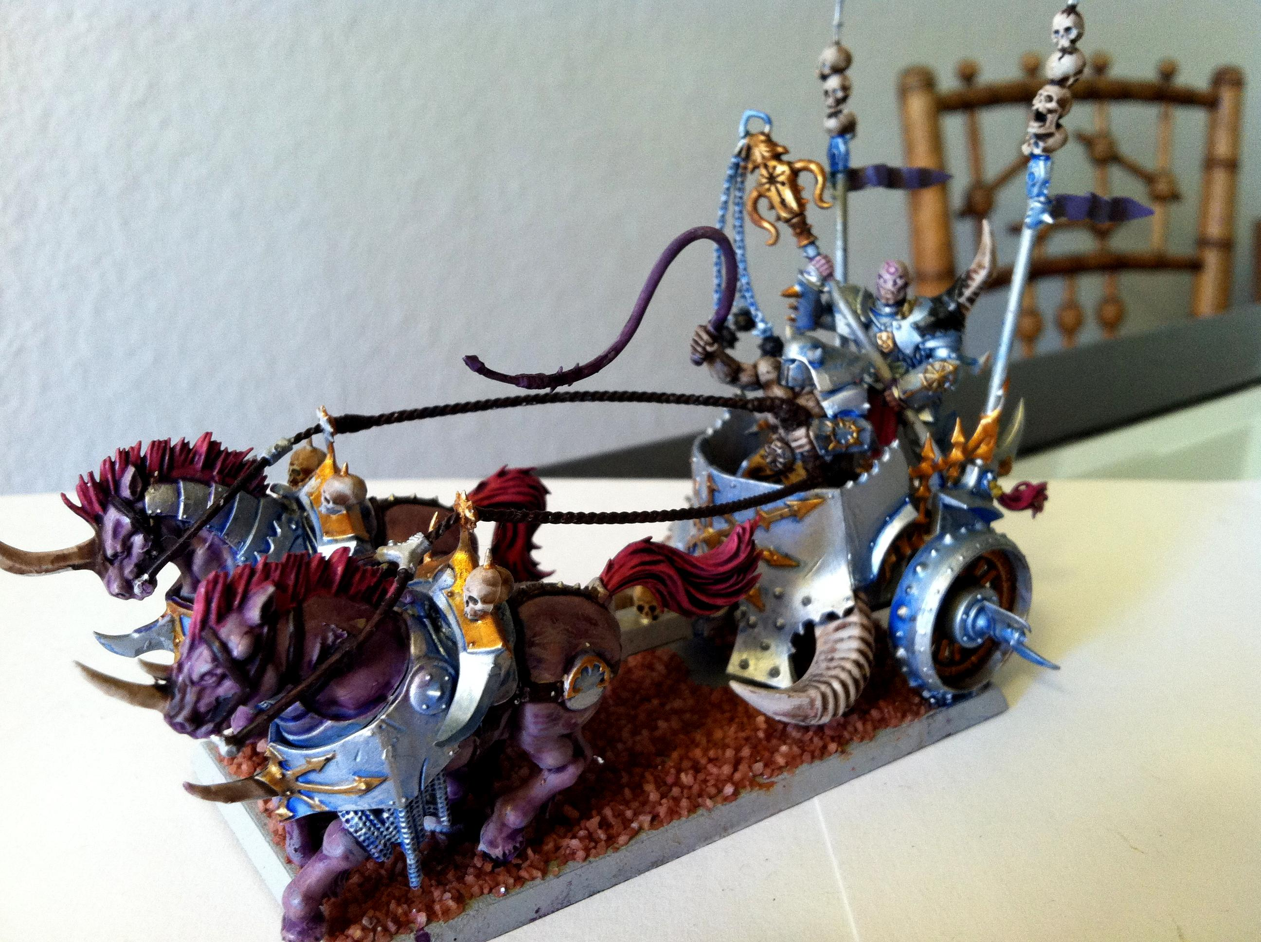 Chariot, Slaanesh, Warriors Of Chaos