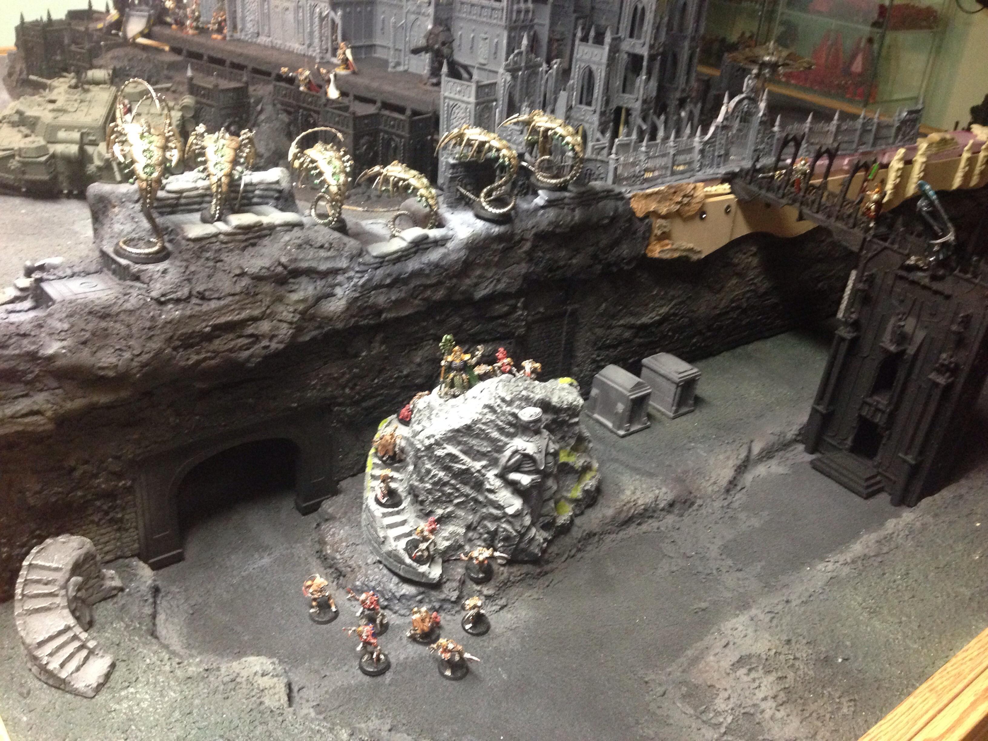 Aquila, Buildings, Cathedral, Game Table, Imperial, Shrine, Terrain, Warhammer 40,000