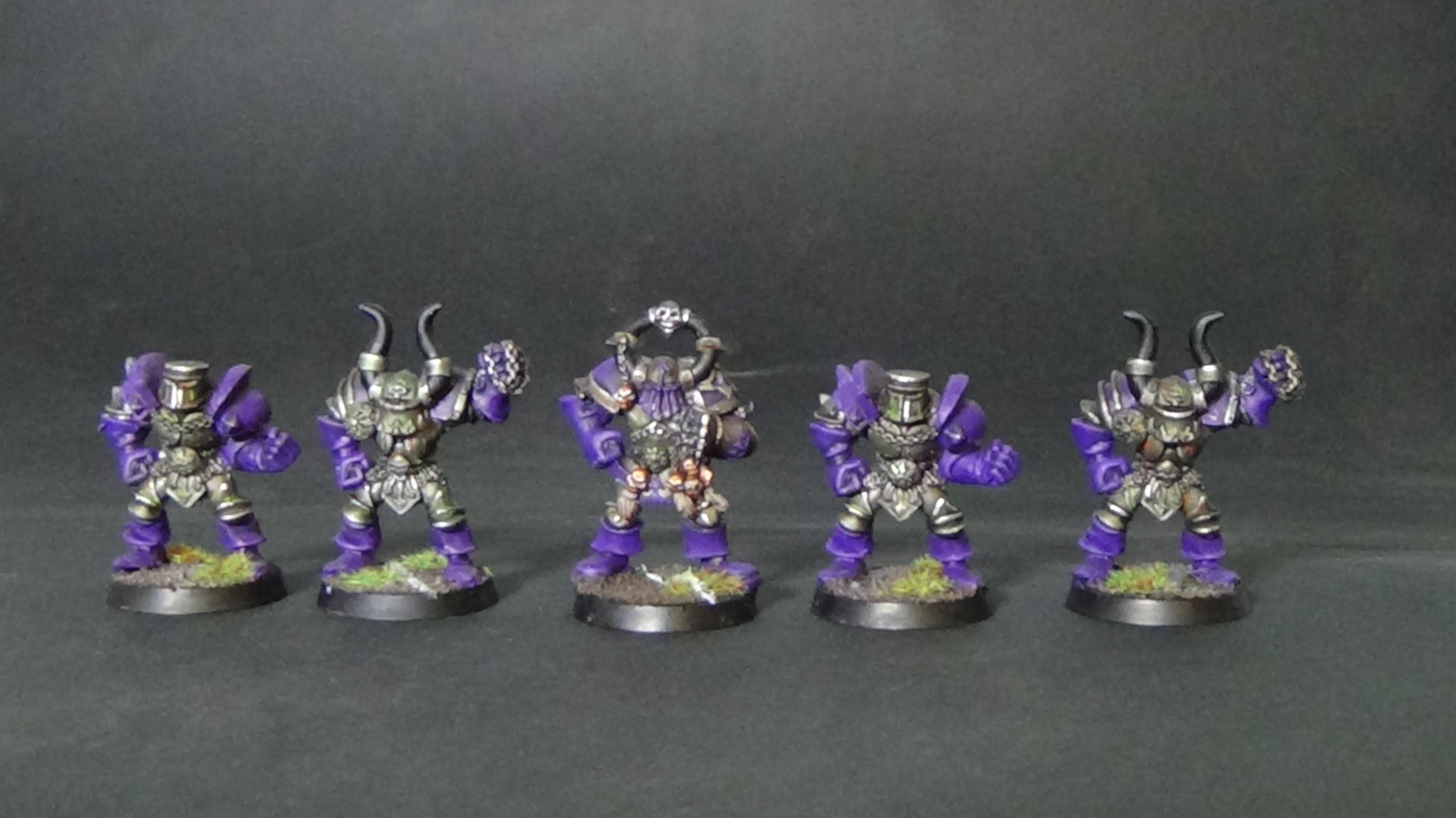Bloodbowl warriors of chaos
