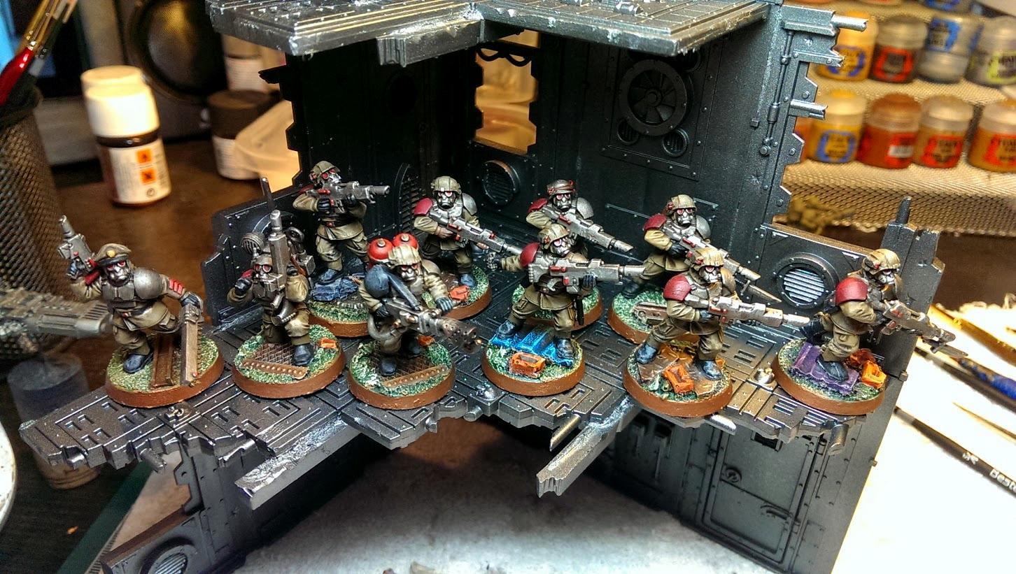 Chaos Renegades, Flamer, Imperial Guard, Iron Warriors, Platoon, Renegade Guard, Sergeant, Traitor Guard