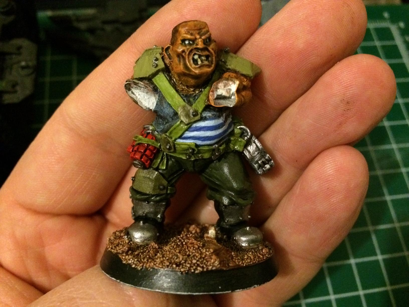 Ogryn Bodyguard, Work In Progress