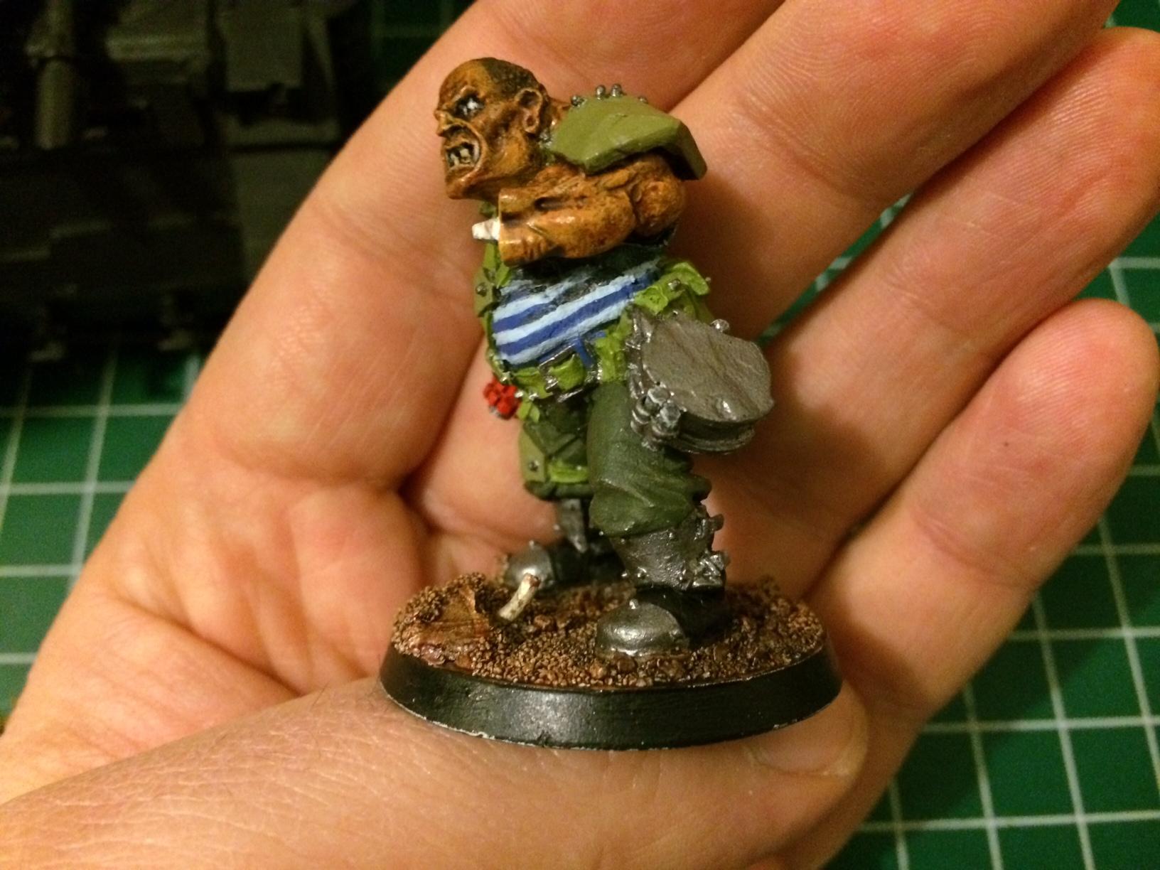 Ogryn Bodyguard, Work In Progress