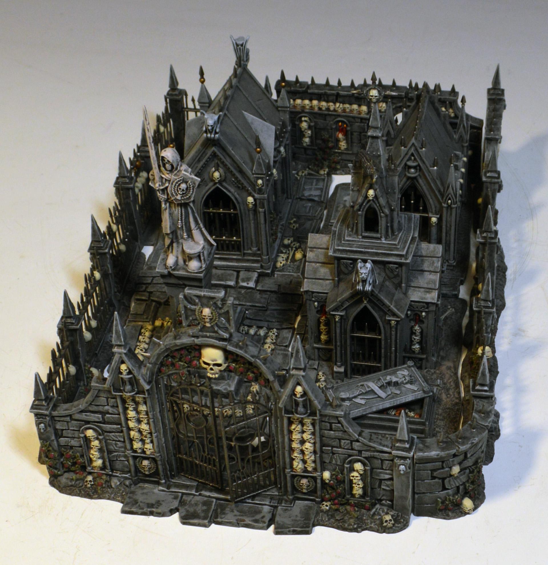Cemetery, Graveyard, Morr, Terrain, Warhammer Fantasy