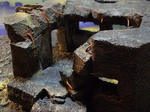 Bunker, Terrain, post apoc ruined bunker