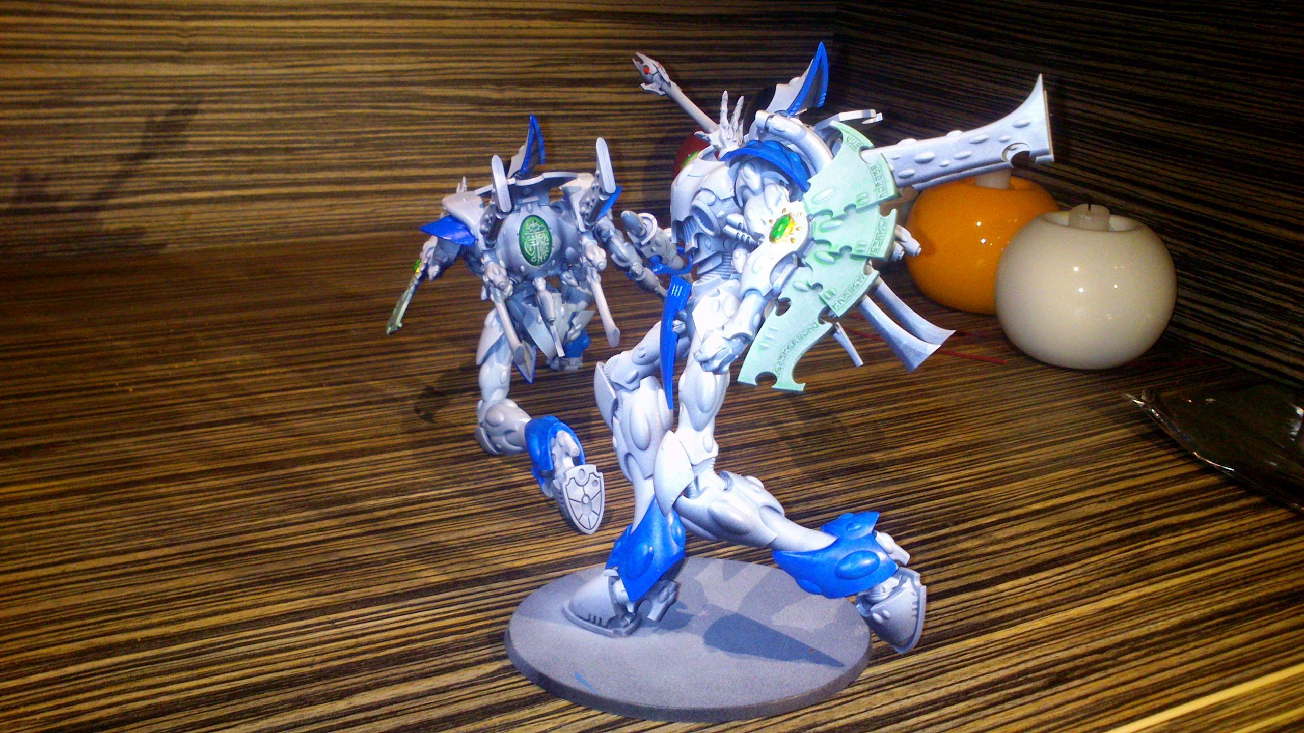 Blue, Blue White, Diorama, Eldar, Eldar Wraith Army, Force, Forest, Forge World, Ghost, Host, Ilyrith, Iyanden, Iybraesil, Kneel, Kneeling, Painting, Phoenix Lord, Pose, Posing, Run, Running, Scatterlaser, Shadow, Snow, Spectres, Spirit, Spirit Host, Spirit Only, Suncannon, Team, Warhammer 40,000, Warhammer Fantasy, Waveserpent, White, Winter, Wraith, Wraith Host, Wraith Only, Wraithguard, Wraithknight, Wraithknights, Wraithlord