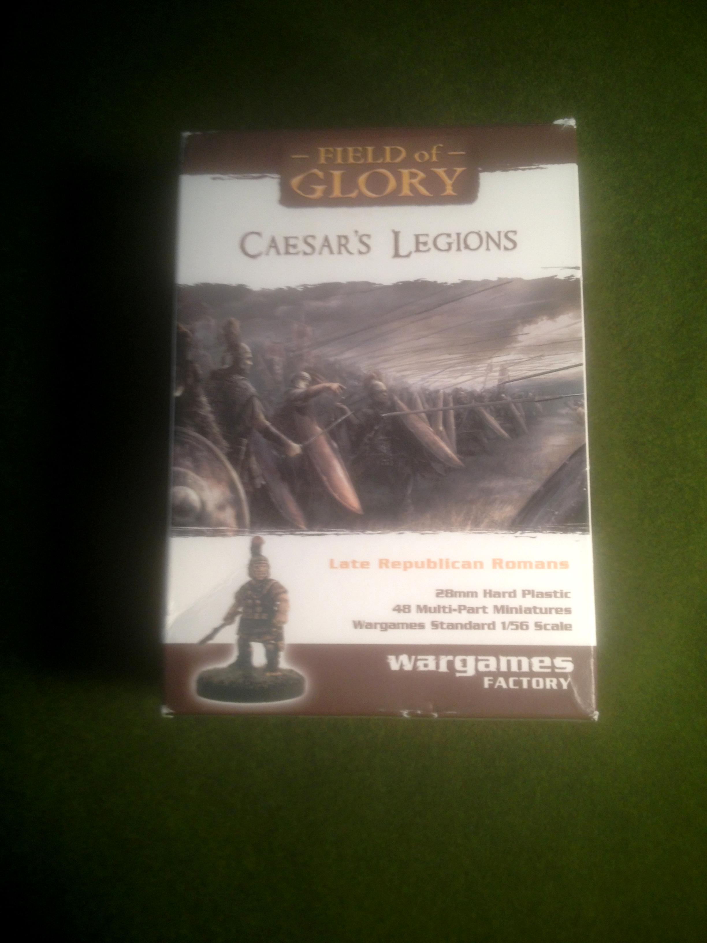 Wargames Factory Caesar's Legion Box