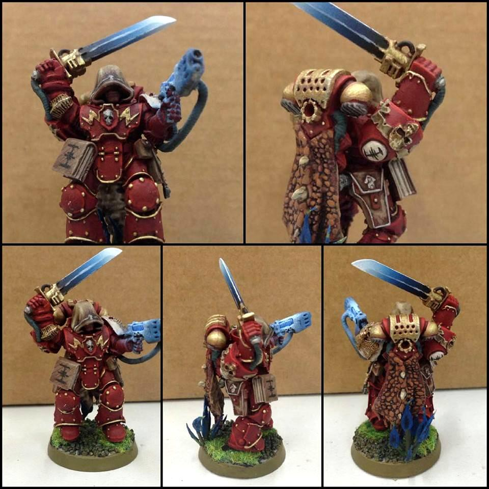 Conversion, Hood, Inquisition, Inquisitor, Ordo Xenos, Power Armour